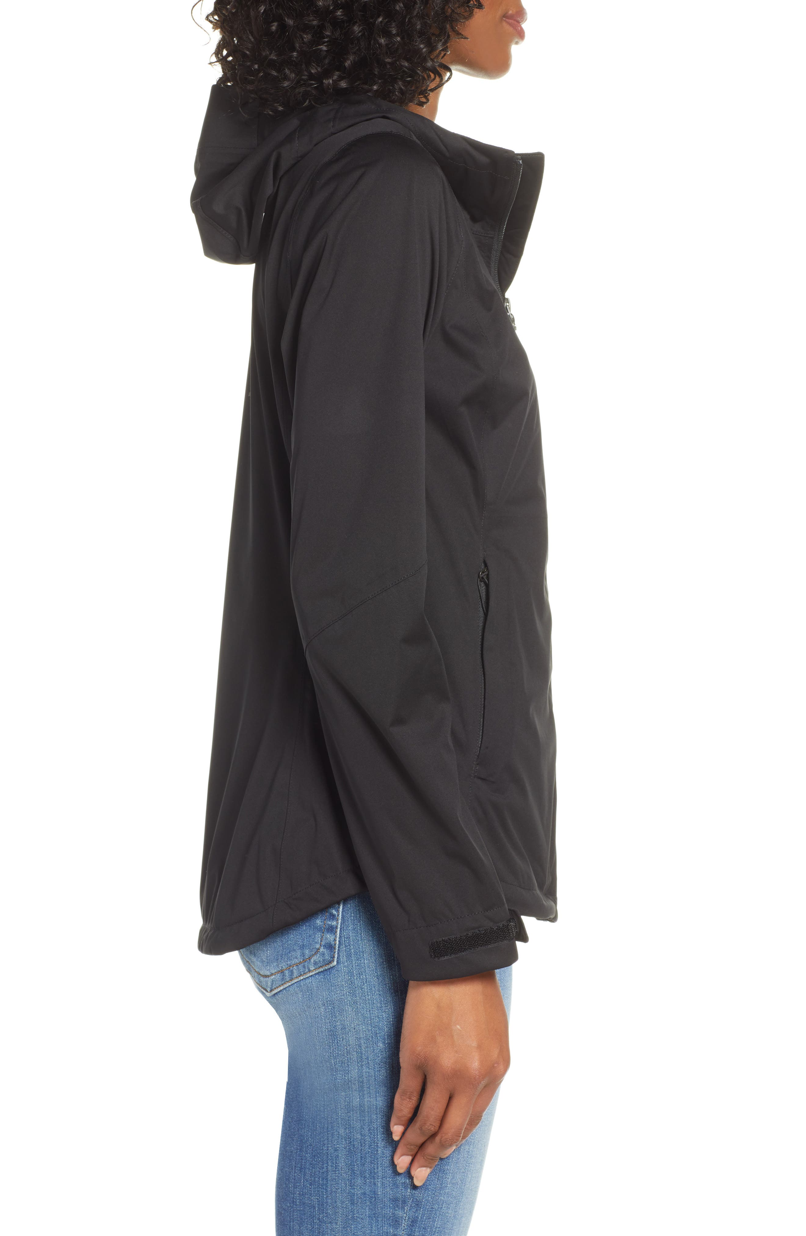 THE NORTH FACE, Allproof Stretch Jacket, Alternate thumbnail 4, color, TNF BLACK
