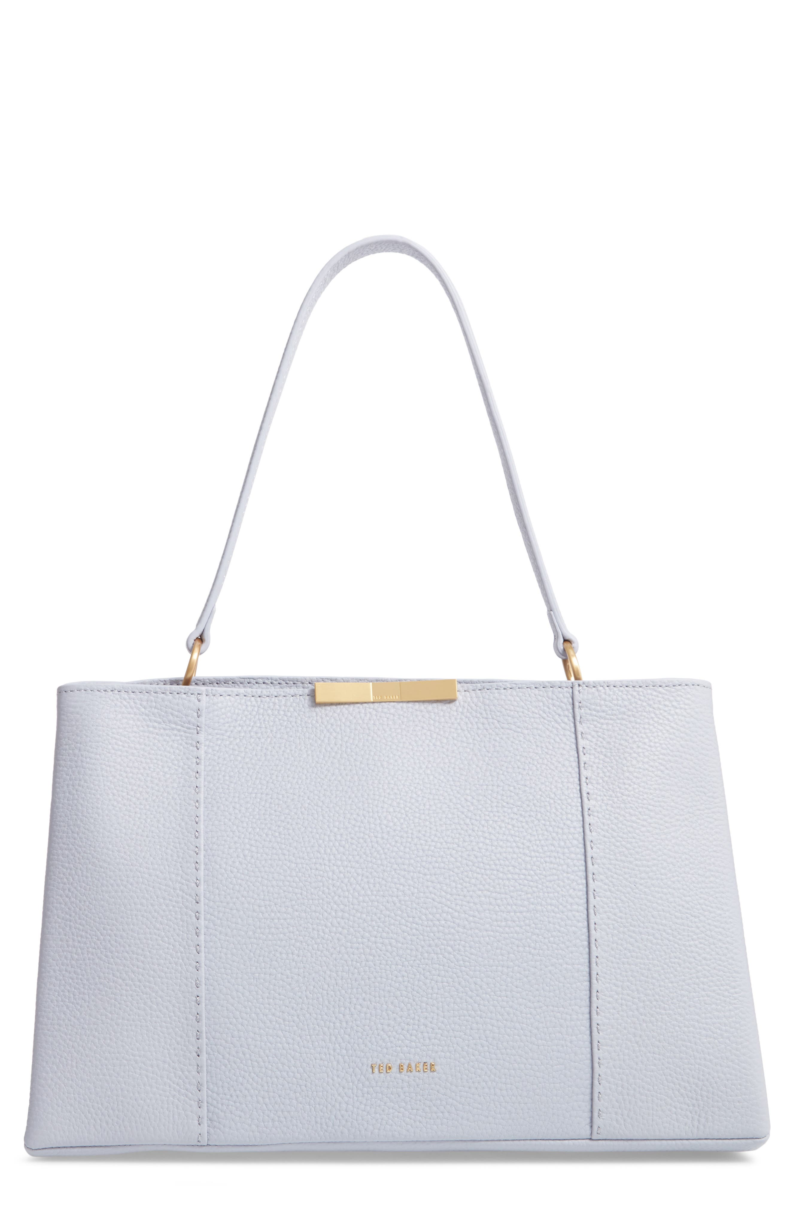 TED BAKER LONDON Camieli Bow Tote, Main, color, PL-BLUE