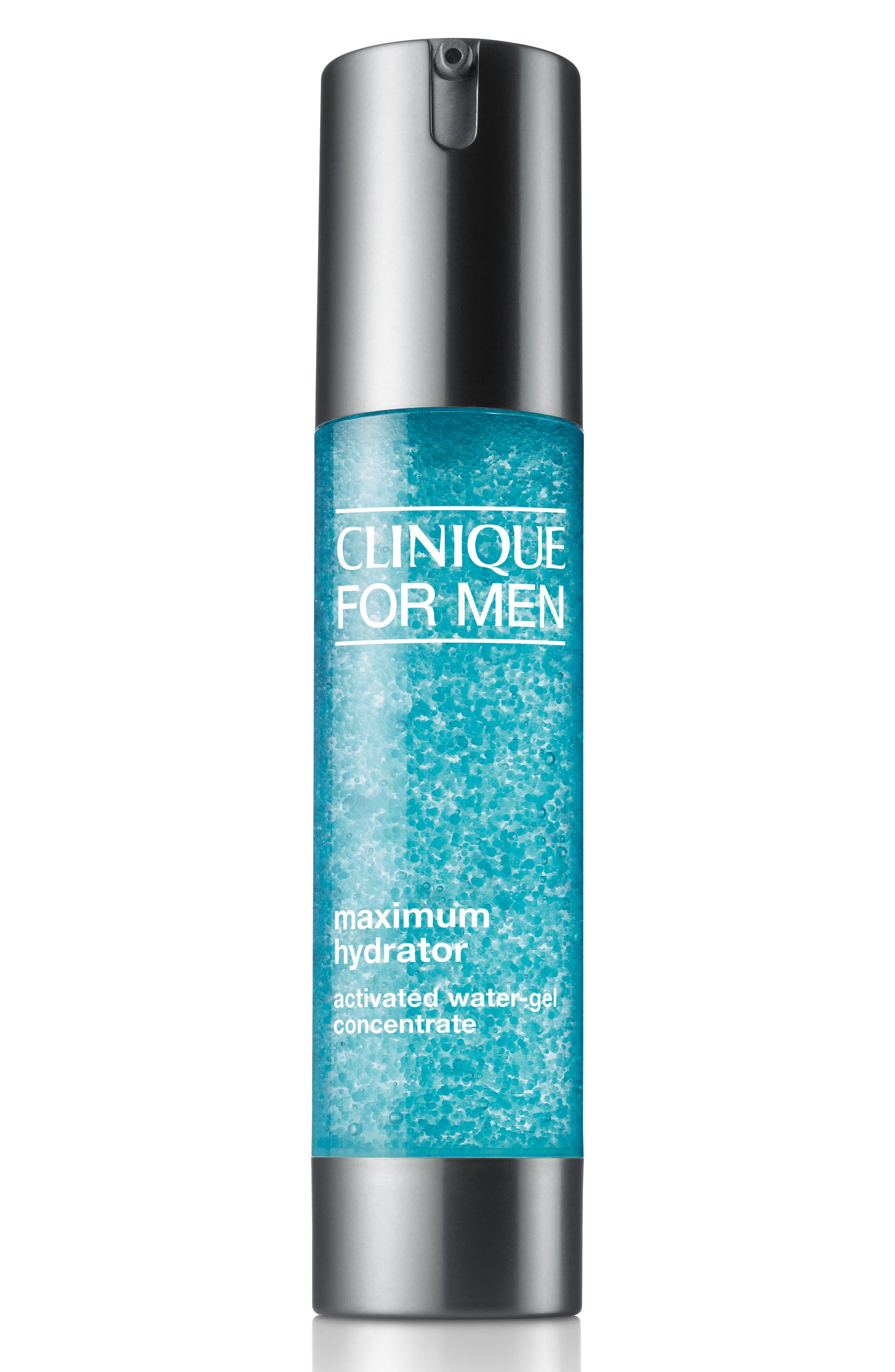 CLINIQUE, for Men Maximum Hydrator Activated Water-Gel Concentrate, Main thumbnail 1, color, NO COLOR