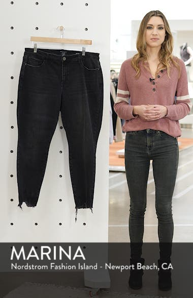 Social Standard High Rise Ankle Skinny Jeans, sales video thumbnail