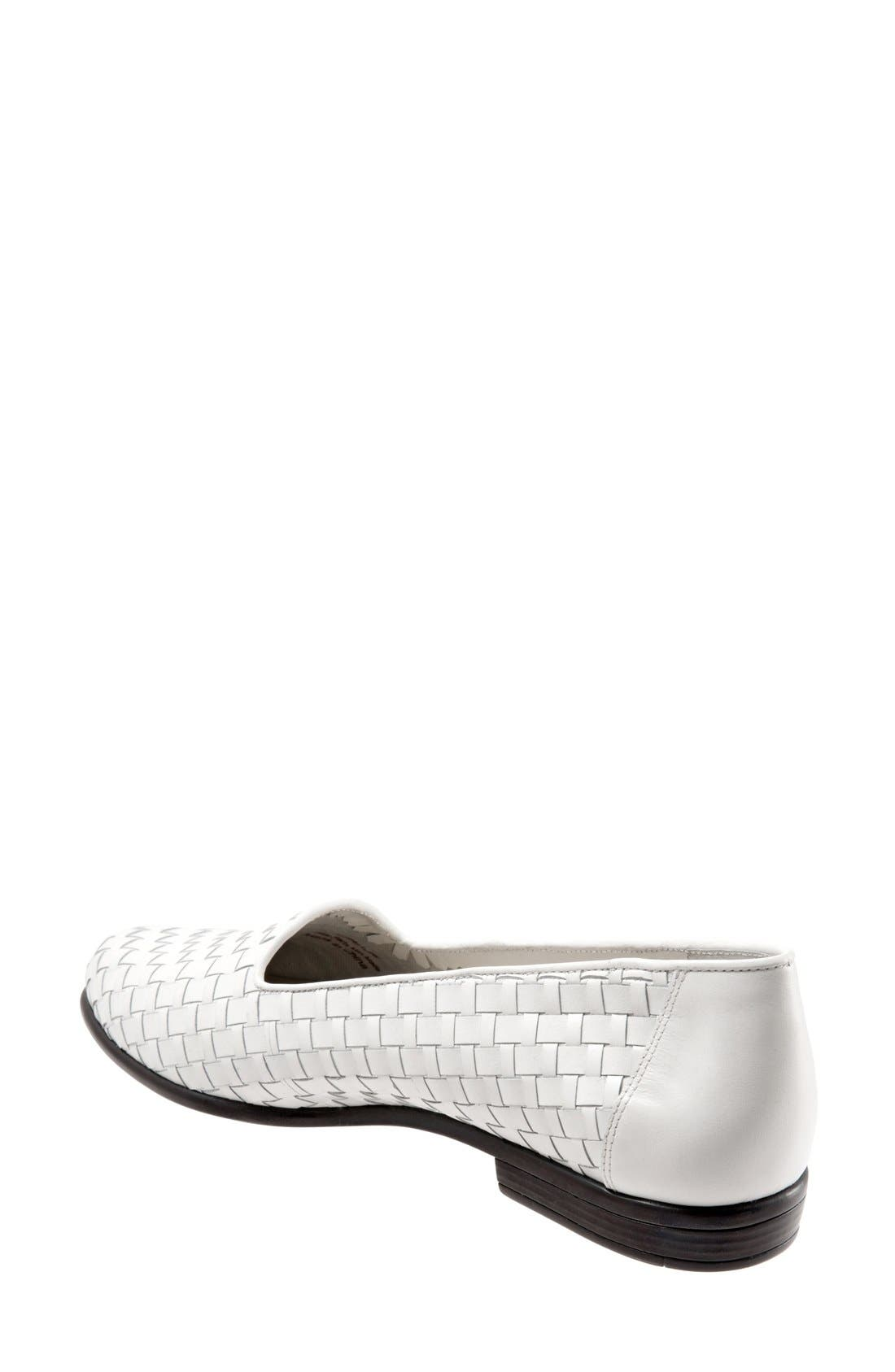 TROTTERS, Slip-On, Alternate thumbnail 2, color, WHITE