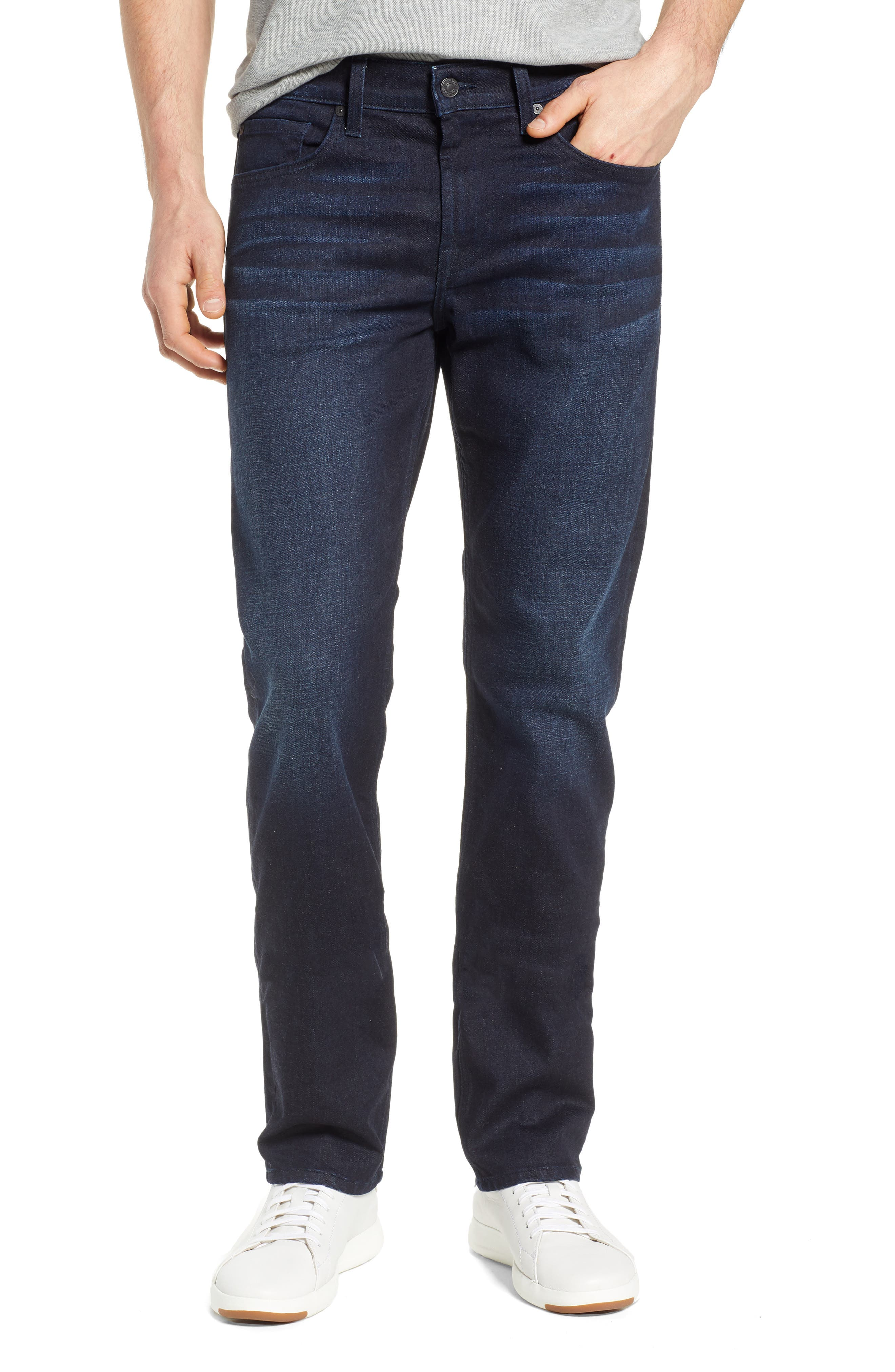 7 FOR ALL MANKIND<SUP>®</SUP>, Standard Straight Leg Jeans, Main thumbnail 1, color, RICHFIELD