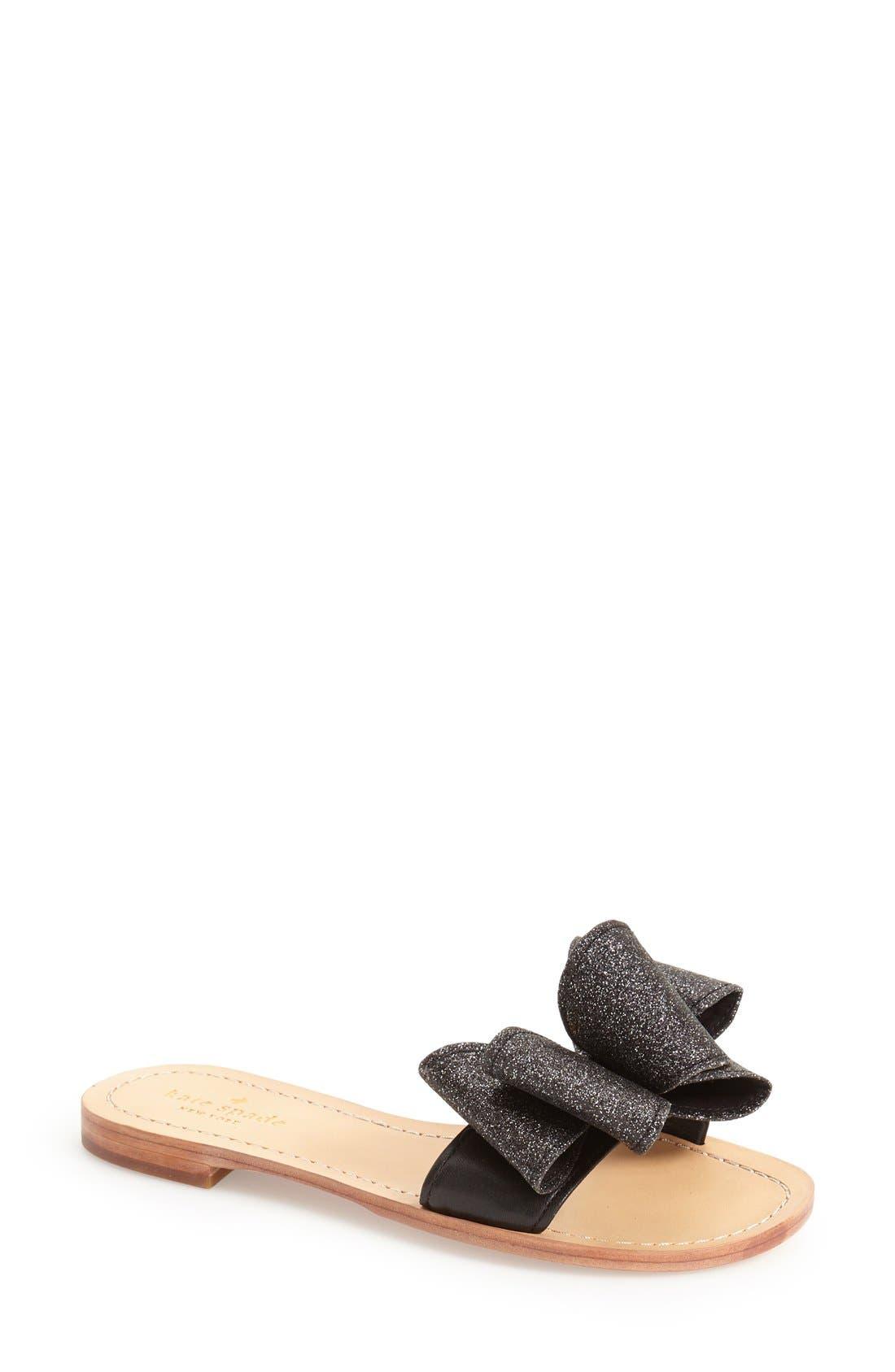 KATE SPADE NEW YORK, 'cicely' sandal, Main thumbnail 1, color, 006