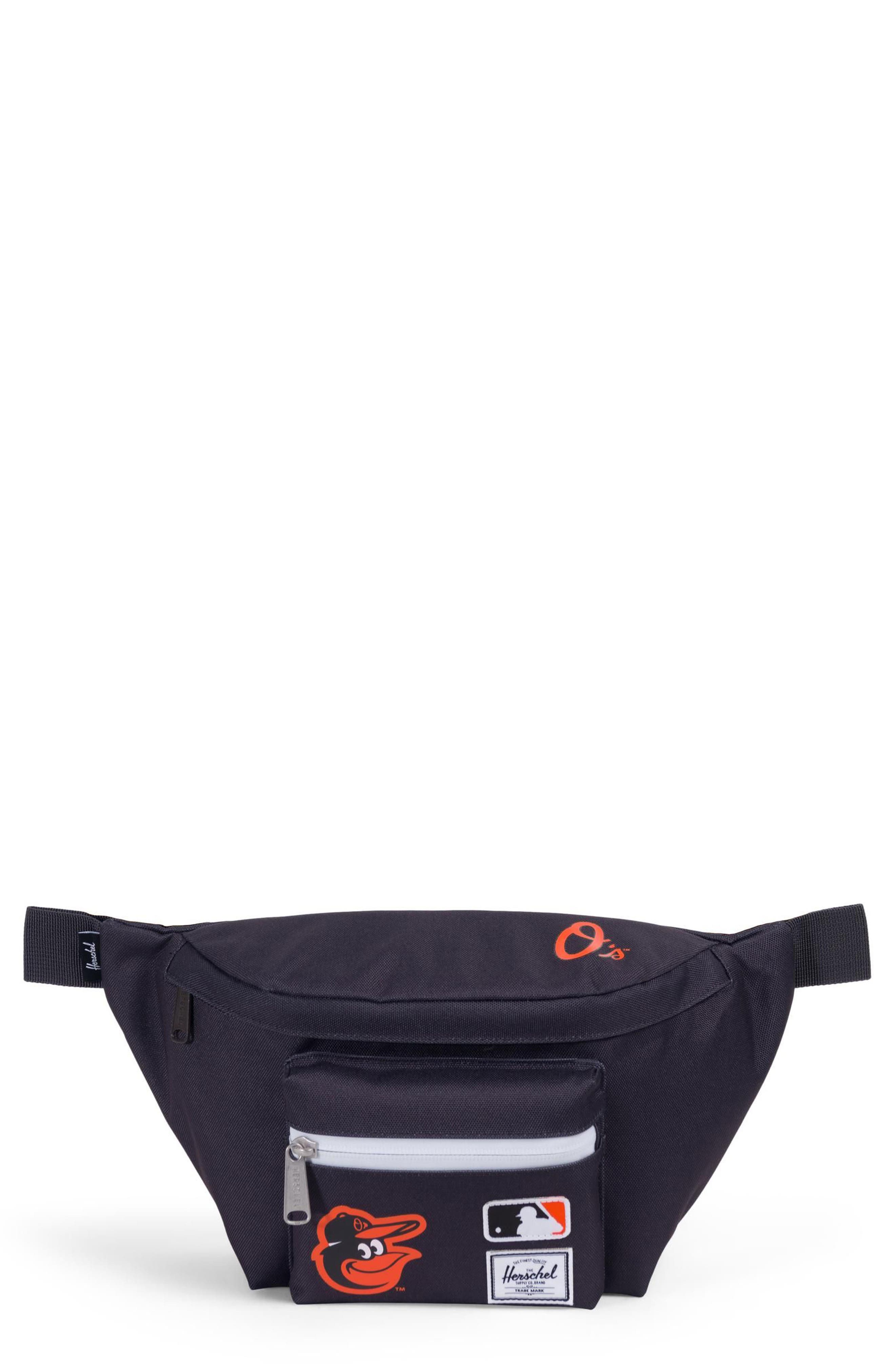 HERSCHEL SUPPLY CO., MLB American League Hip Pack, Main thumbnail 1, color, 001