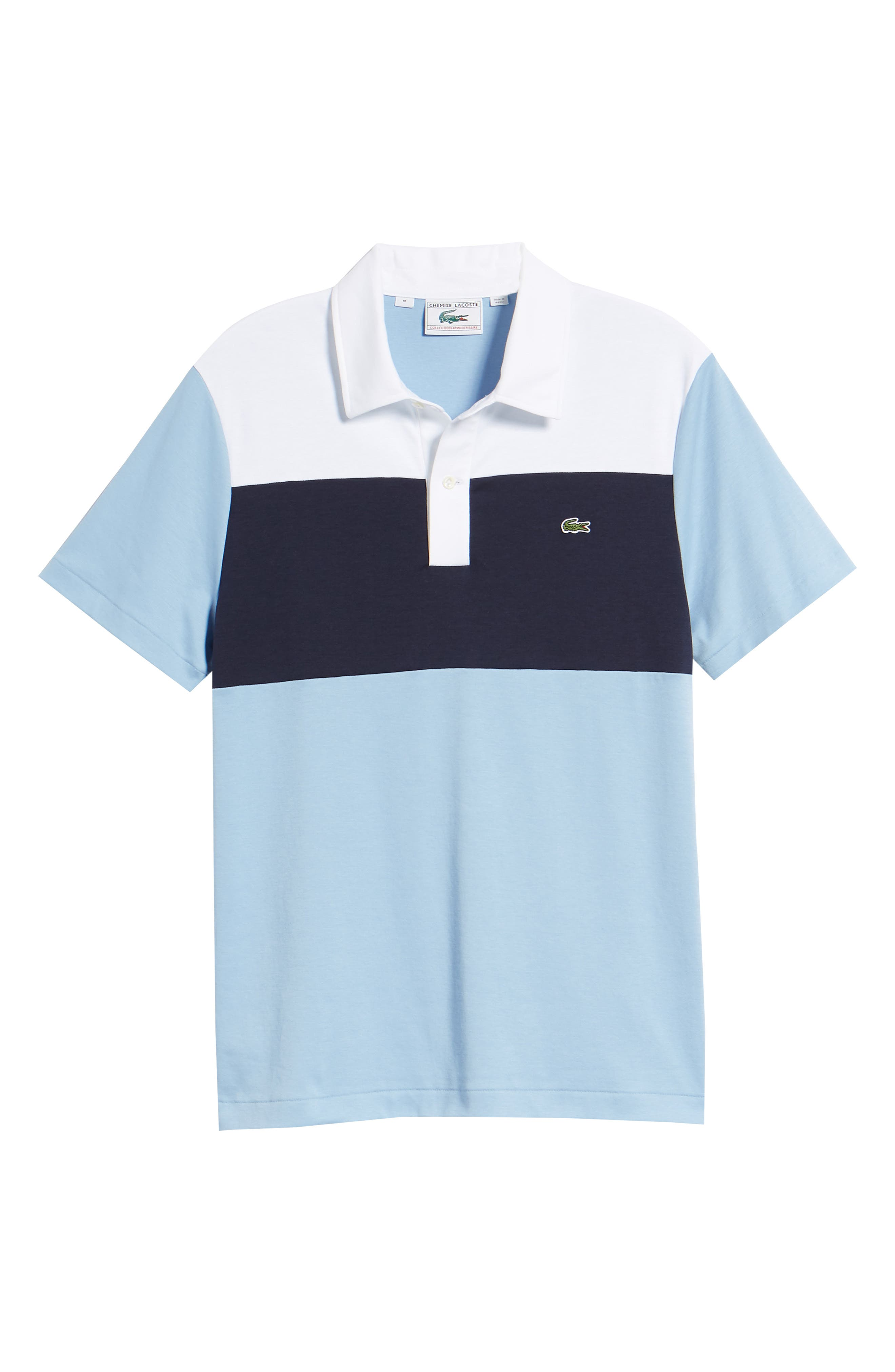 LACOSTE, 85th Anniversary Polo, Alternate thumbnail 6, color, 400