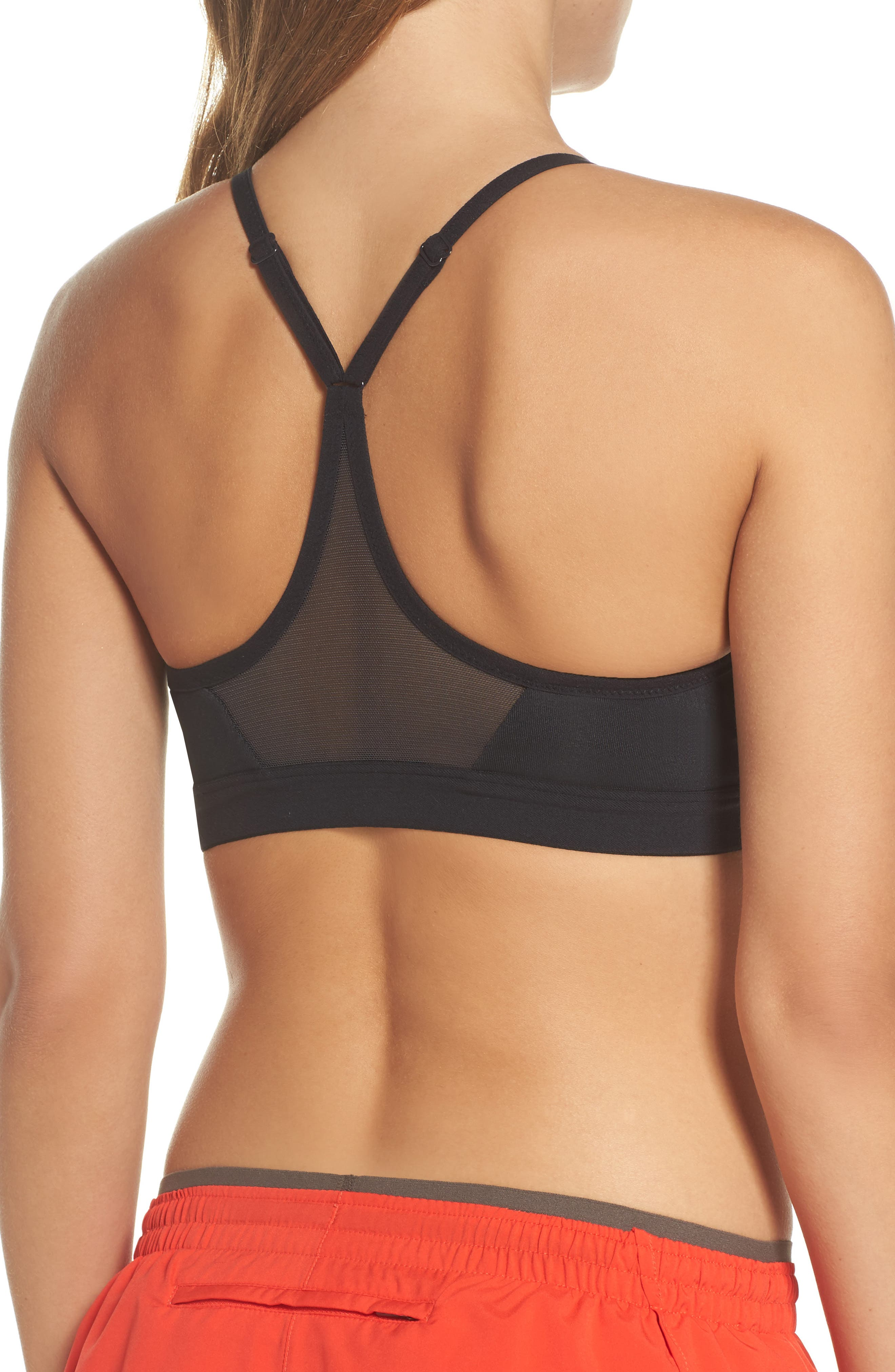 NIKE, Indy Sports Bra, Alternate thumbnail 2, color, 011