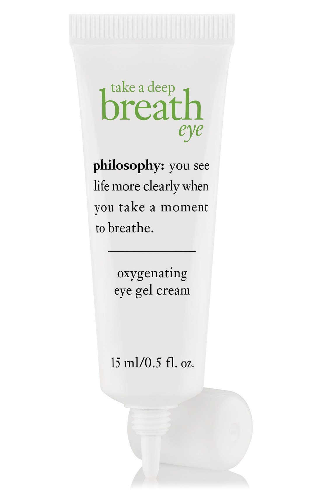PHILOSOPHY, 'take a deep breath' oxygenating eye gel cream, Alternate thumbnail 4, color, NO COLOR