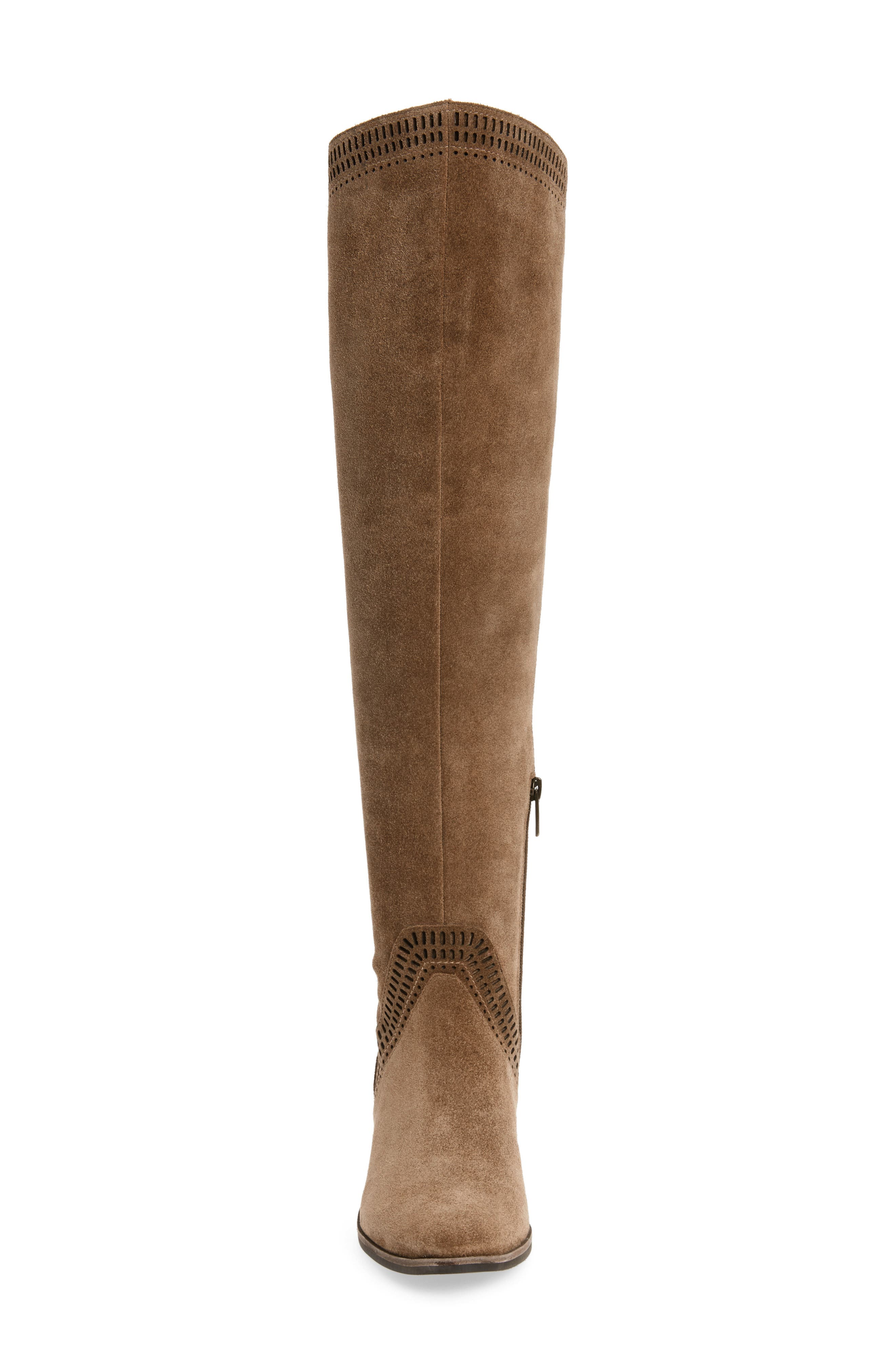 VINCE CAMUTO, Karinda Over the Knee Boot, Alternate thumbnail 4, color, 200