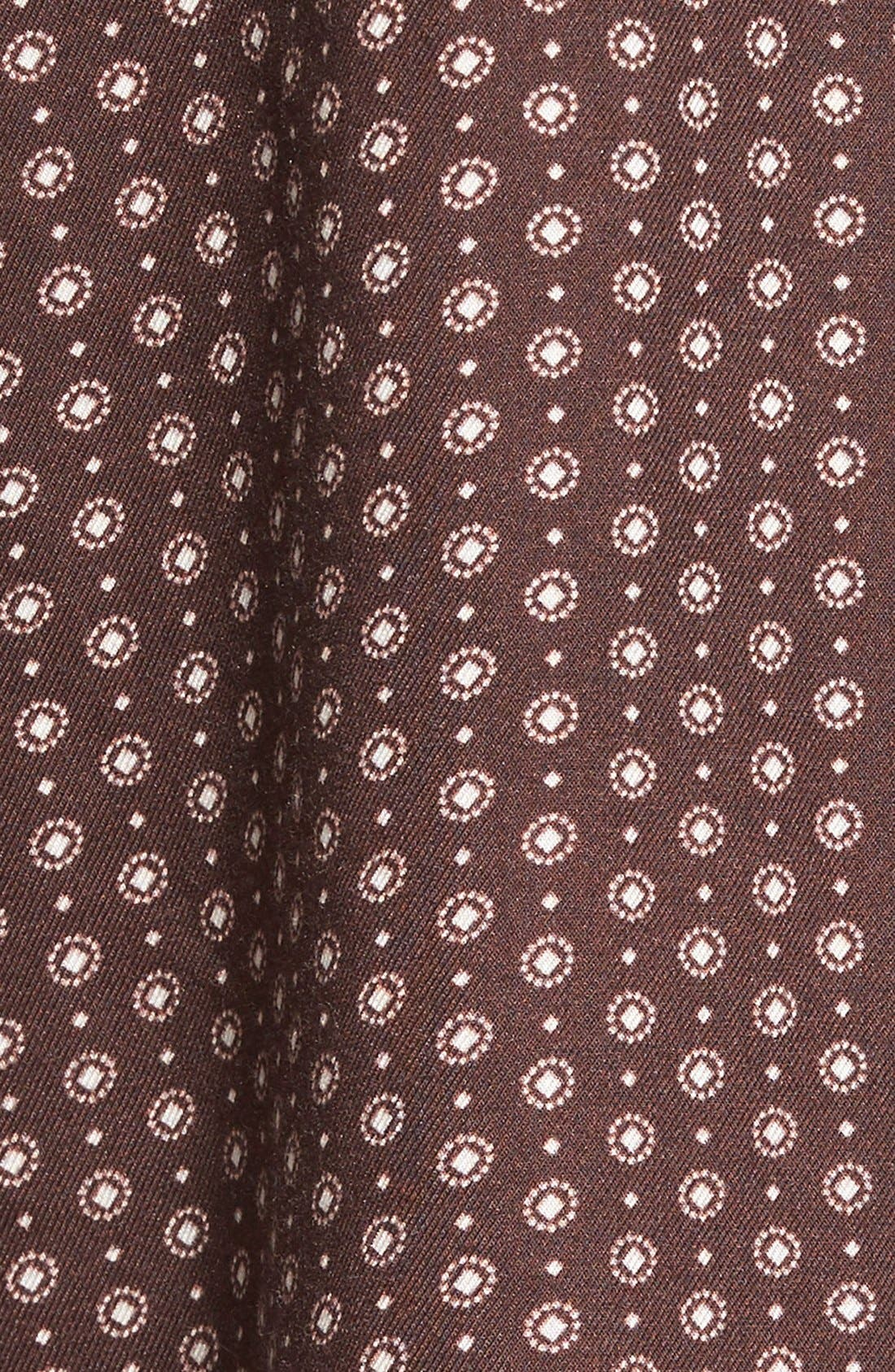 TREASURE & BOND, Treasure&Bond Medallion Print Boyfriend Shirt, Alternate thumbnail 2, color, 600