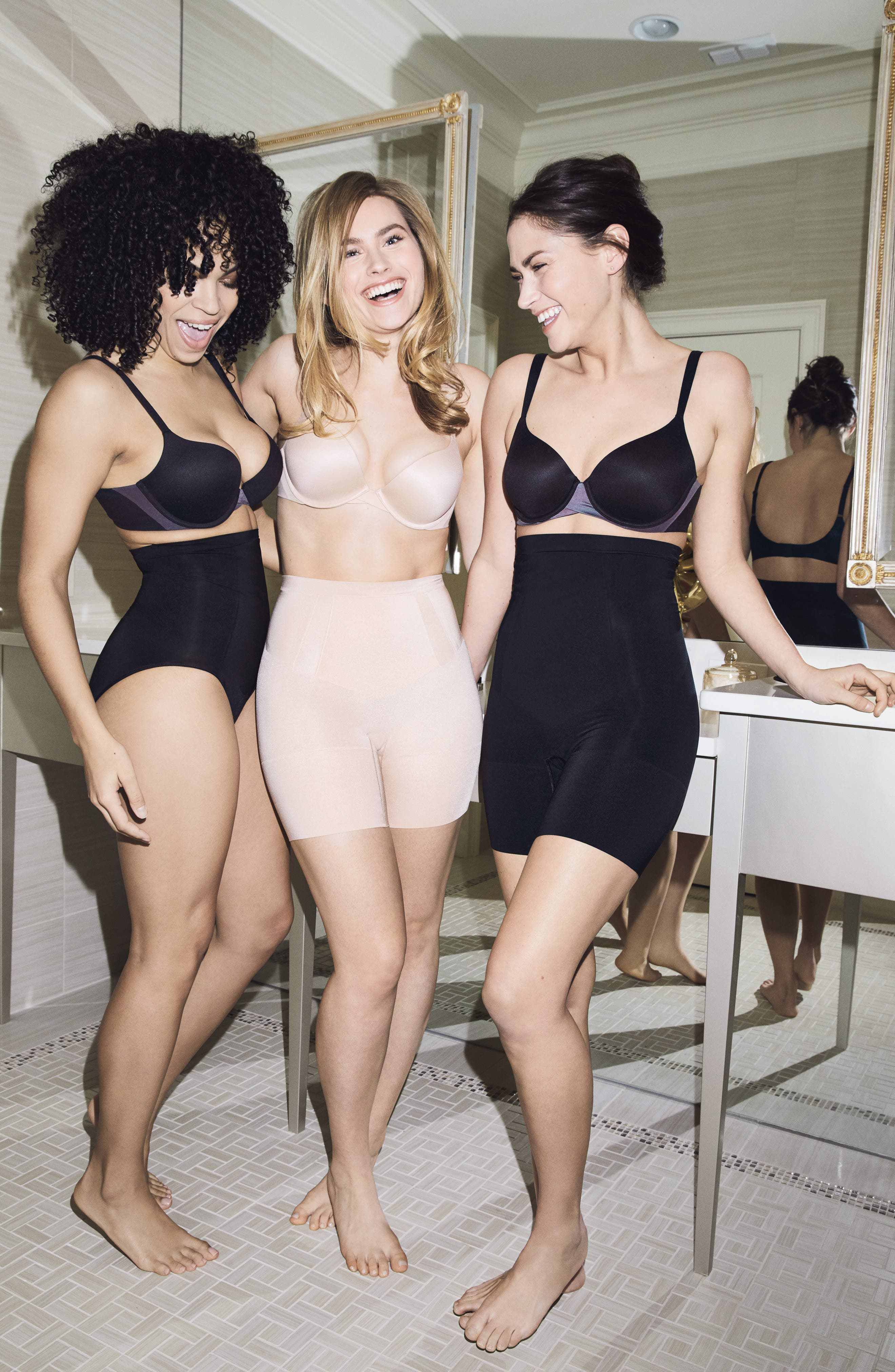 SPANX<SUP>®</SUP>, UnderwirePillow Cup Full Coverage Bra, Alternate thumbnail 11, color, BLACK