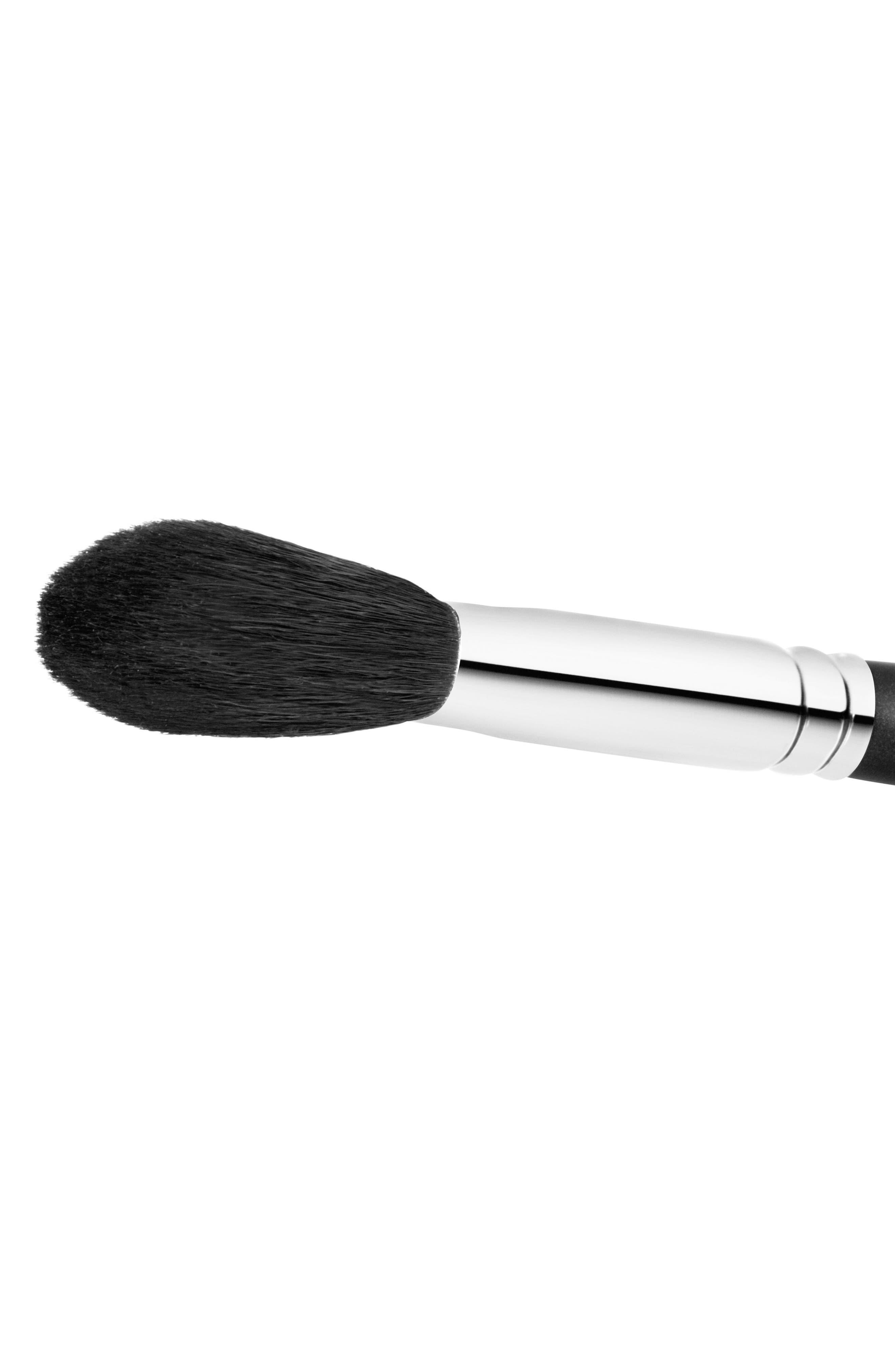 MAC COSMETICS, MAC 129S Synthetic Powder/Blush Brush, Alternate thumbnail 2, color, NO COLOR