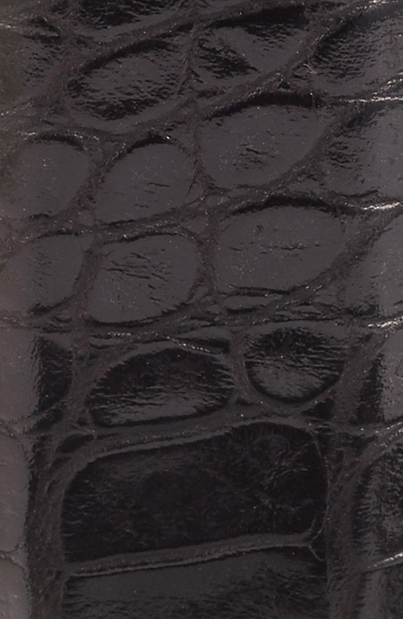 MARTIN DINGMAN, Anthony Leather Belt, Alternate thumbnail 2, color, 001