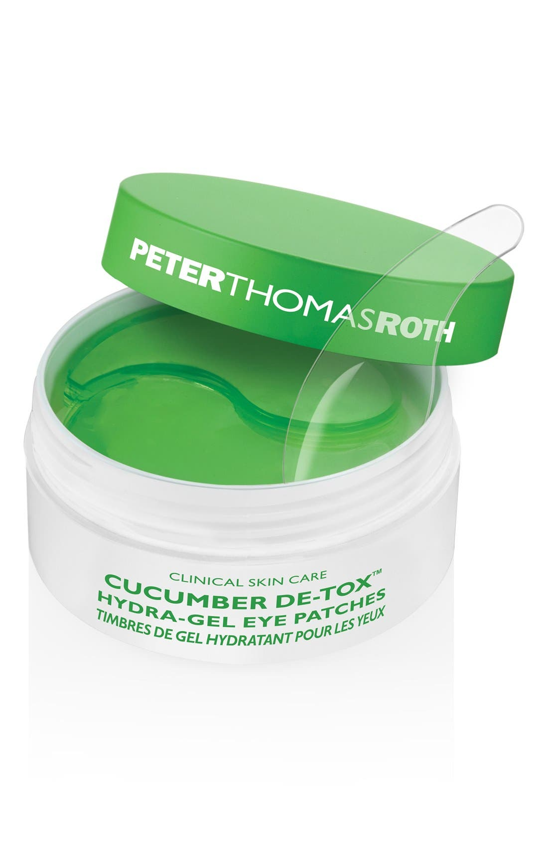 PETER THOMAS ROTH Cucumber De-Tox<sup>™</sup> Hydra-Gel Eye Patches, Main, color, NO COLOR