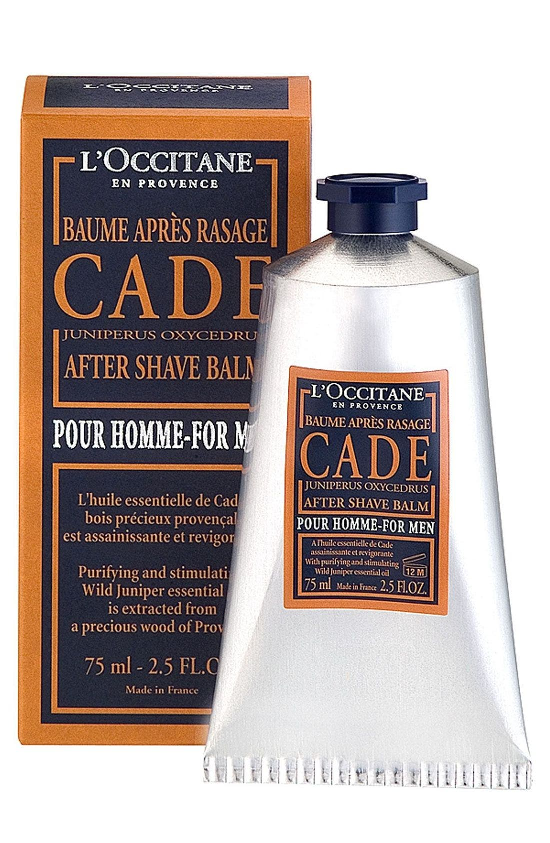 L'OCCITANE, CADE After Shave Balm, Main thumbnail 1, color, 000