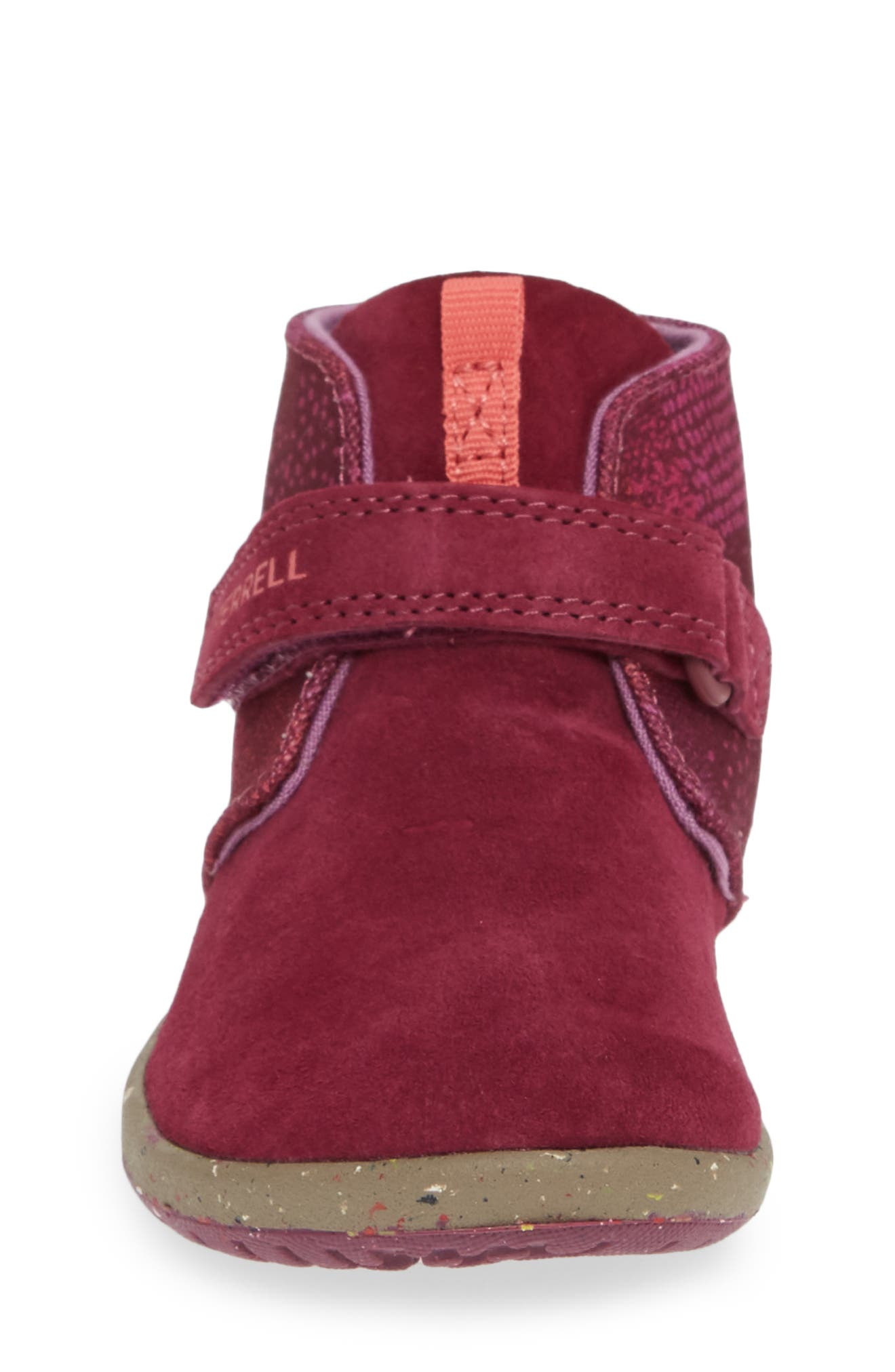 MERRELL, Bare Steps Boot, Alternate thumbnail 4, color, BERRY