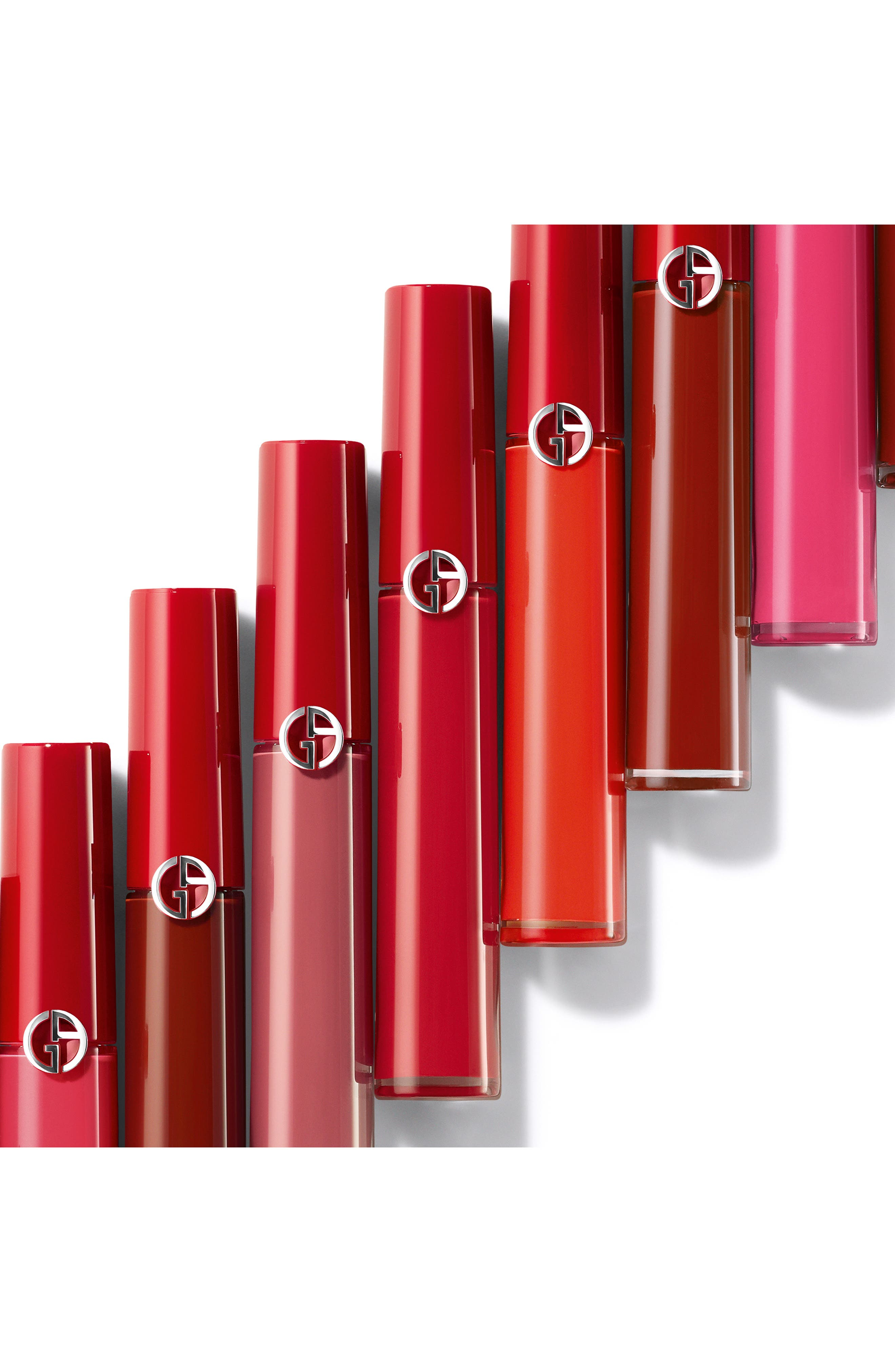 GIORGIO ARMANI, Lip Maestro Lip Stain, Alternate thumbnail 7, color, 300 FLESH