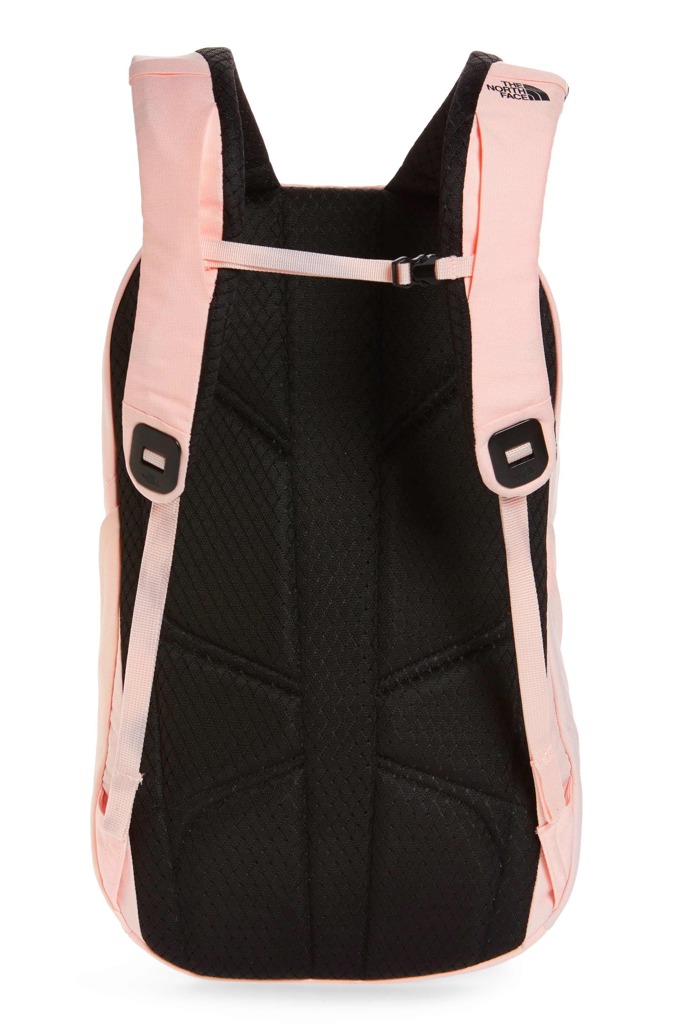 THE NORTH FACE, 'Isabella' Backpack, Alternate thumbnail 4, color, PINK LIGHT HEATHER/ TNF BLACK