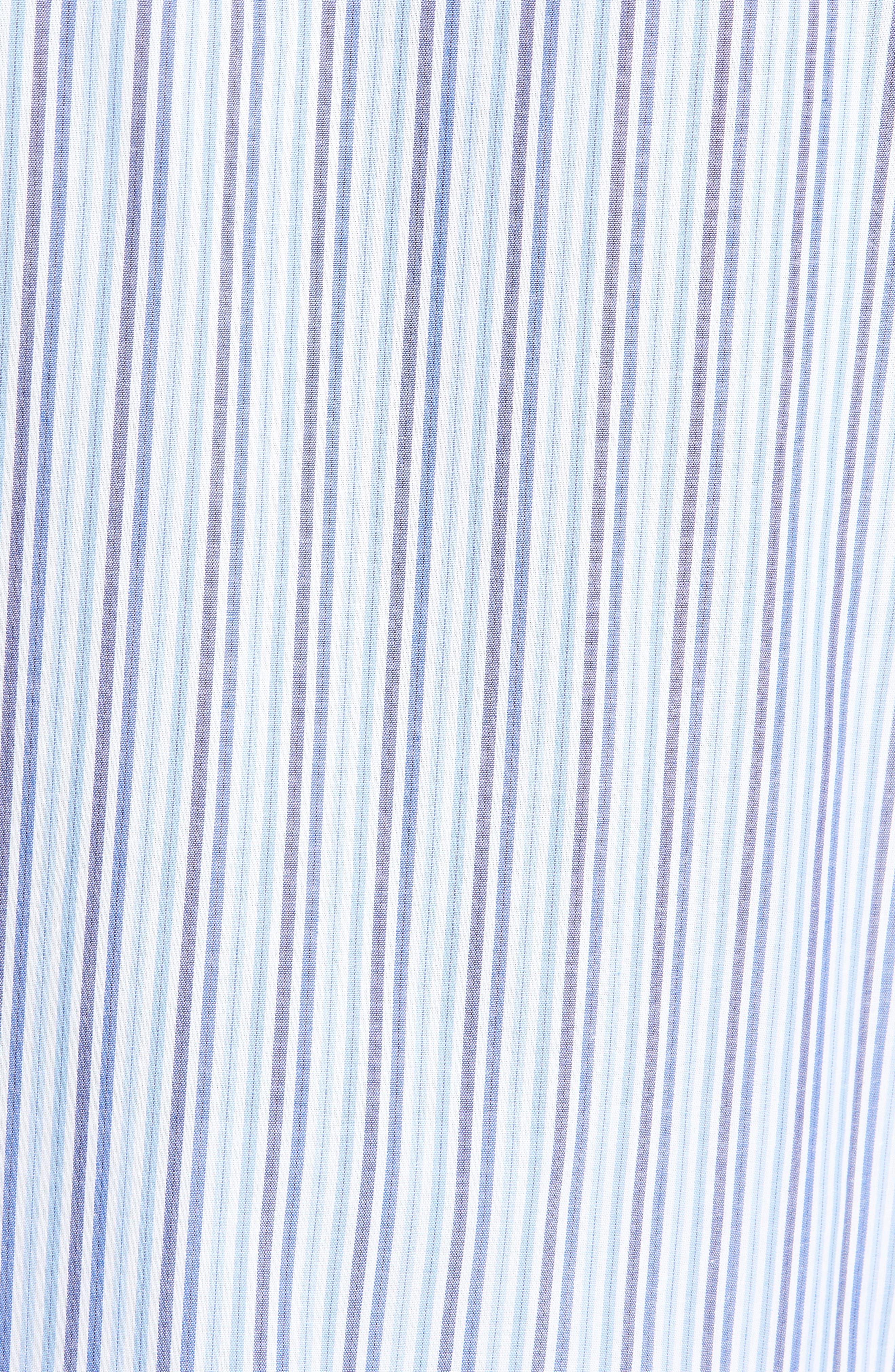 MAJESTIC INTERNATIONAL, Easy Care Pajamas, Alternate thumbnail 5, color, SKY BLUE