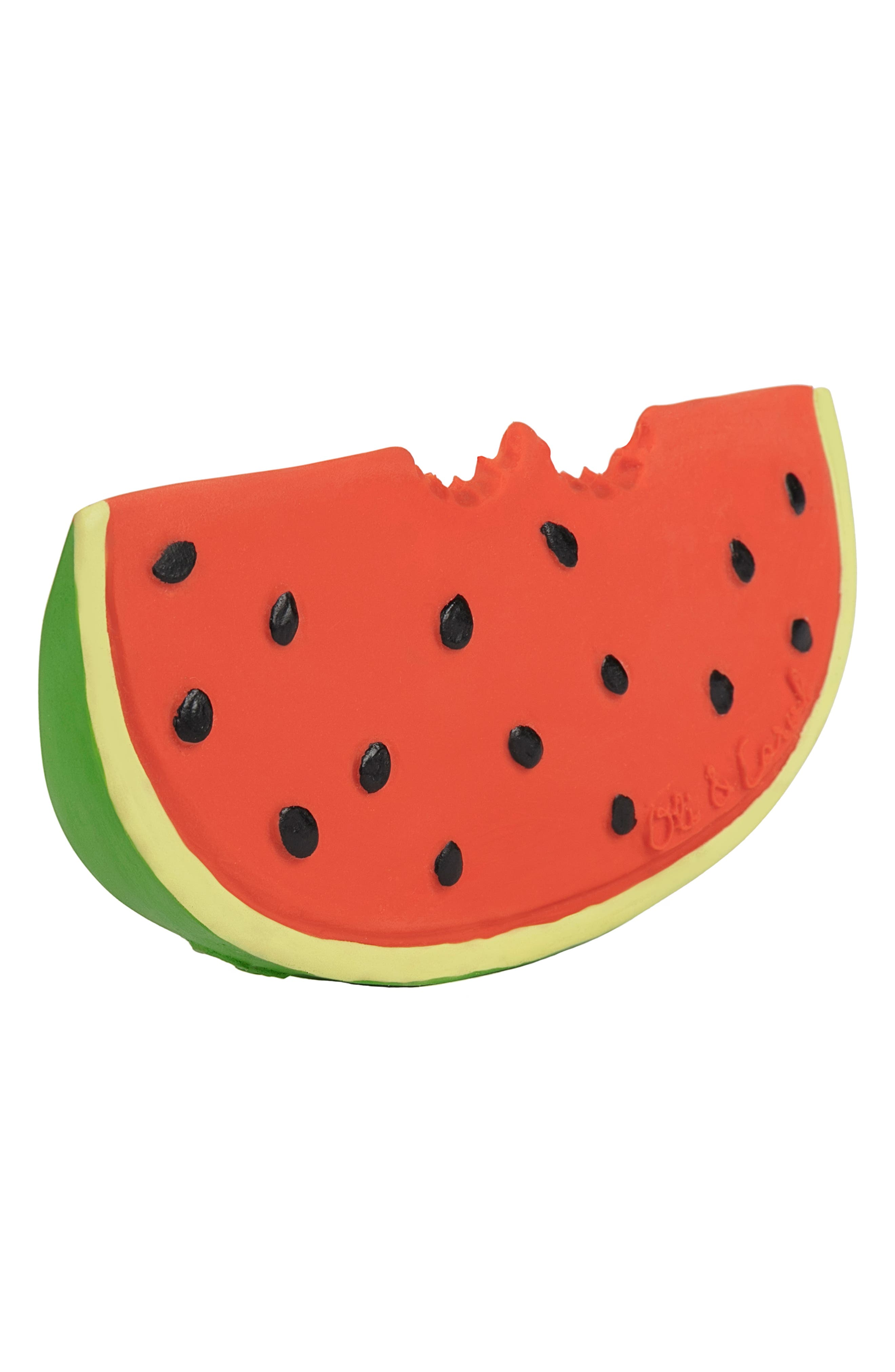OLI & CAROL, Oli and Carol Wally the Watermelon Teething Toy, Alternate thumbnail 3, color, 600