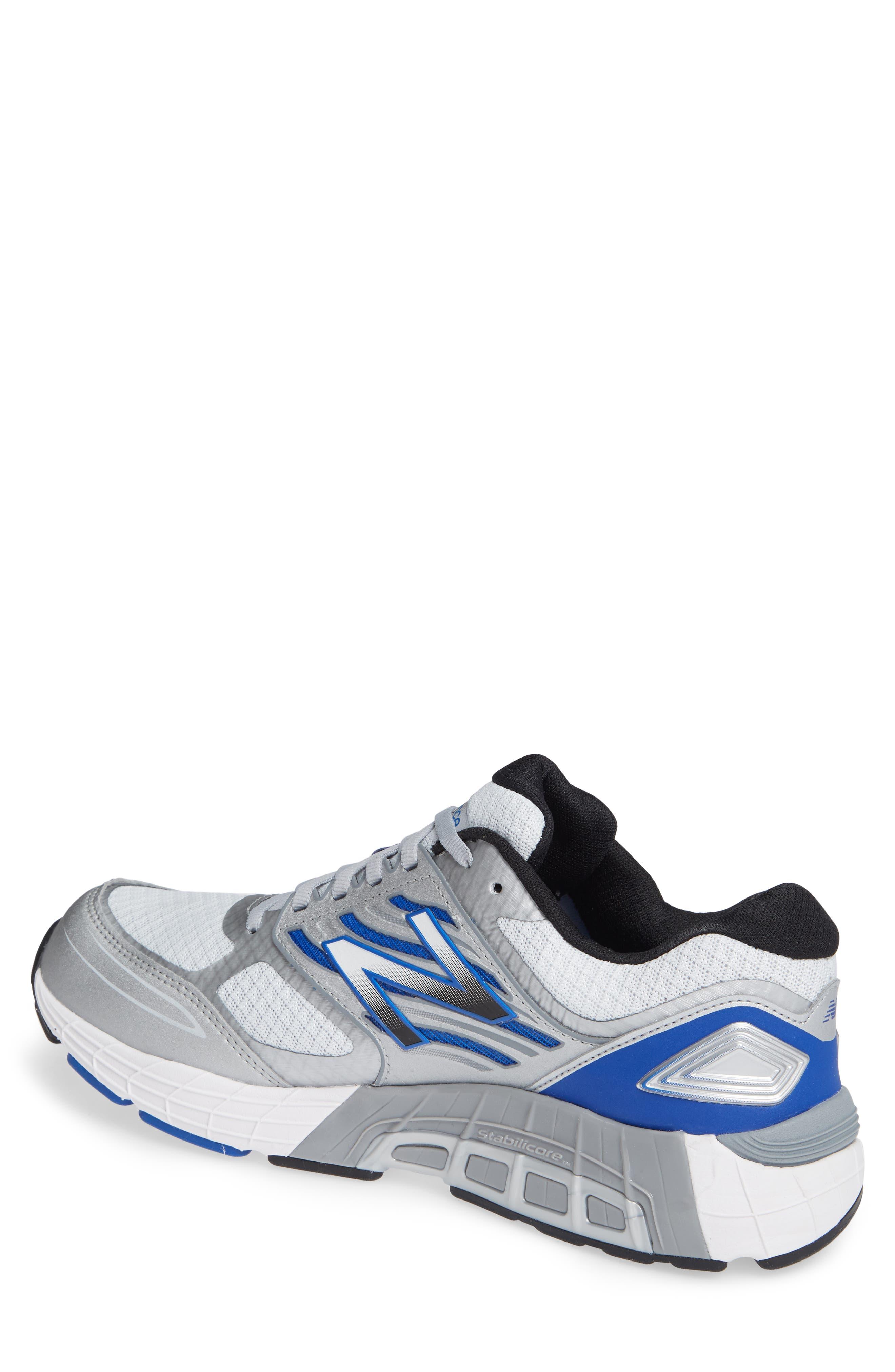 NEW BALANCE, 1340v3 Running Shoe, Alternate thumbnail 2, color, WHITE