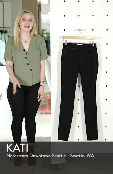 10-Inch High Waist Skinny Jeans, sales video thumbnail