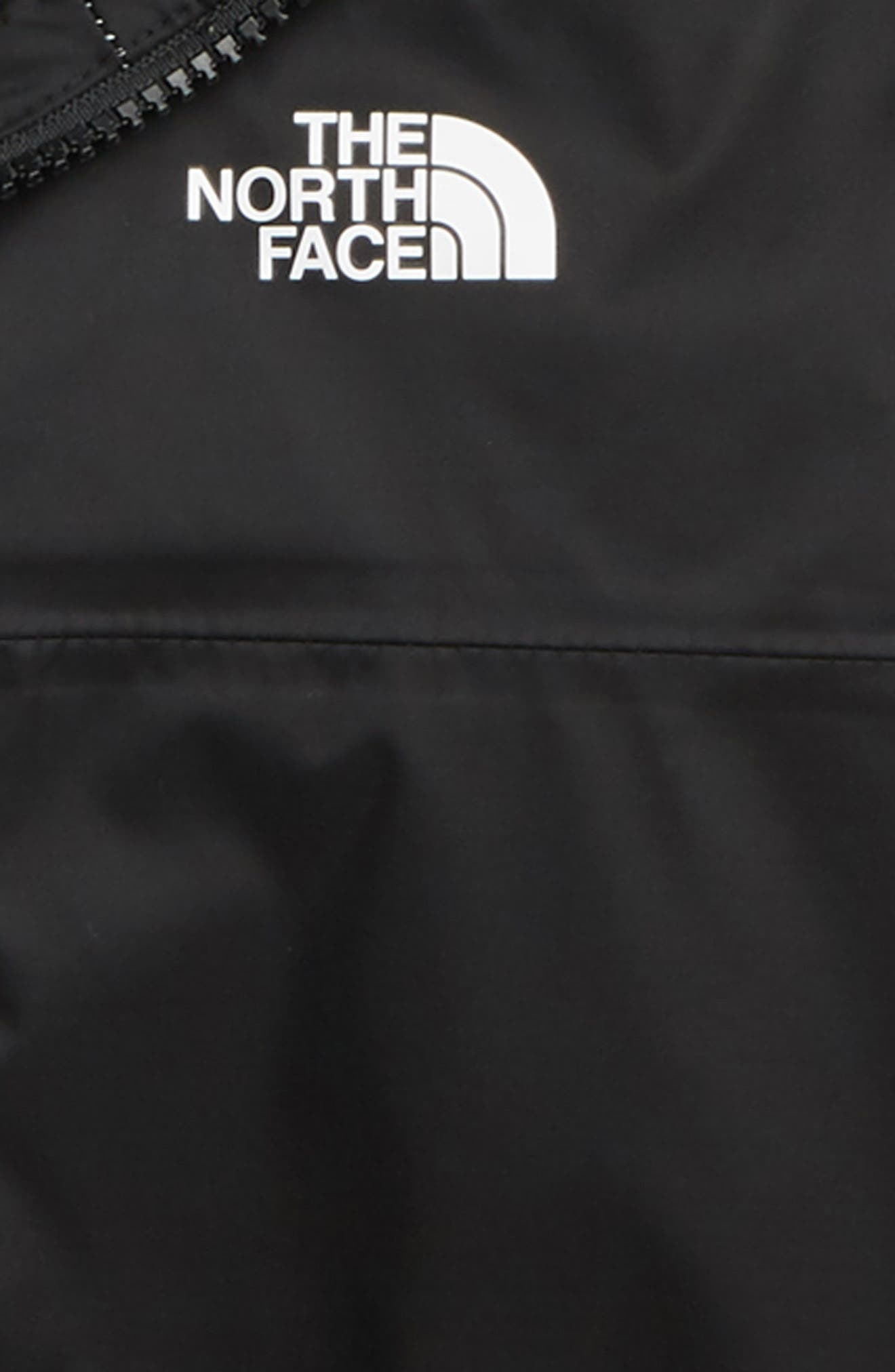 THE NORTH FACE, Zipline Hooded Rain Jacket, Alternate thumbnail 2, color, TNF BLACK