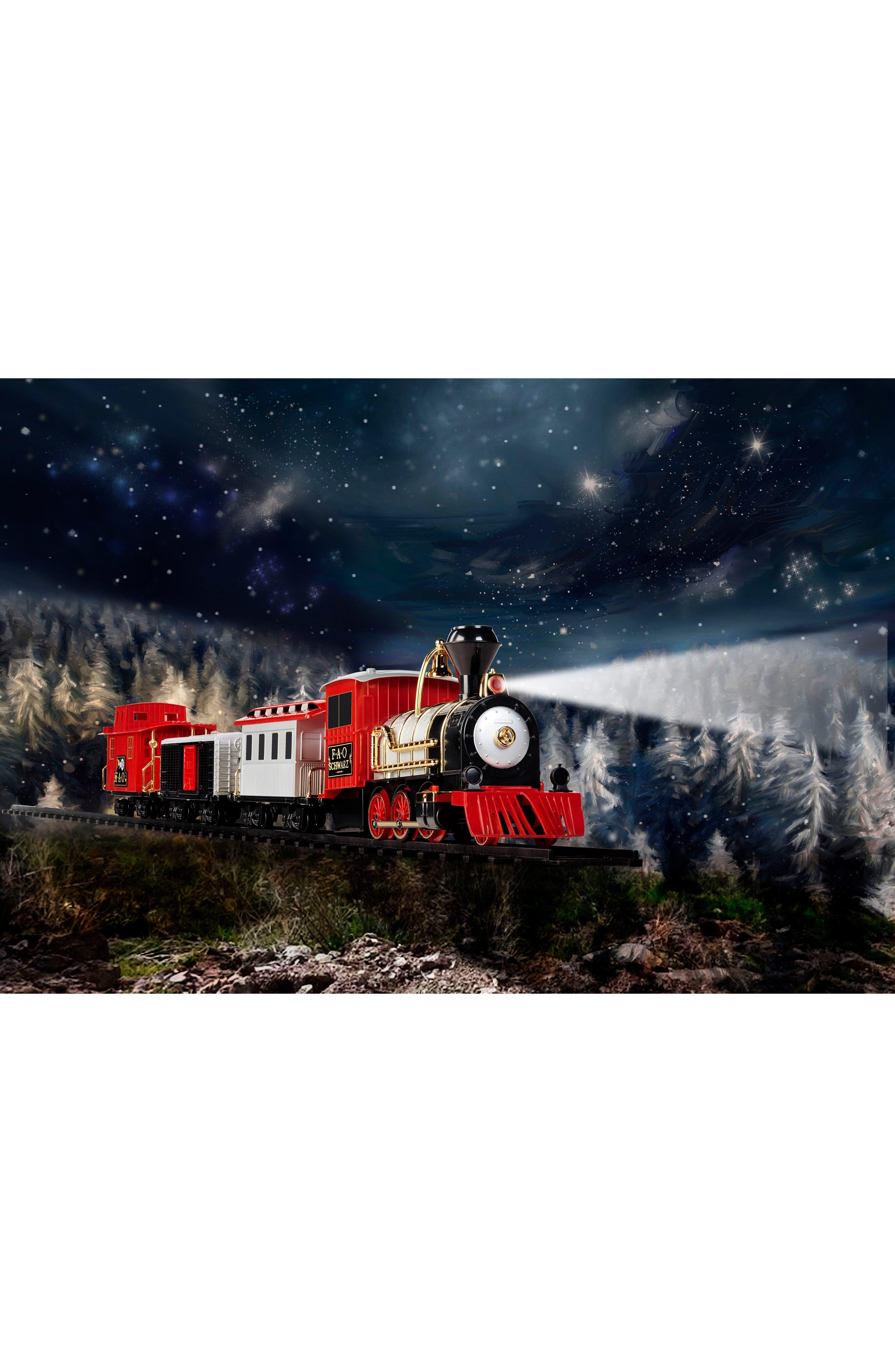 FAO SCHWARZ, 75-Piece Train Set, Alternate thumbnail 4, color, 600