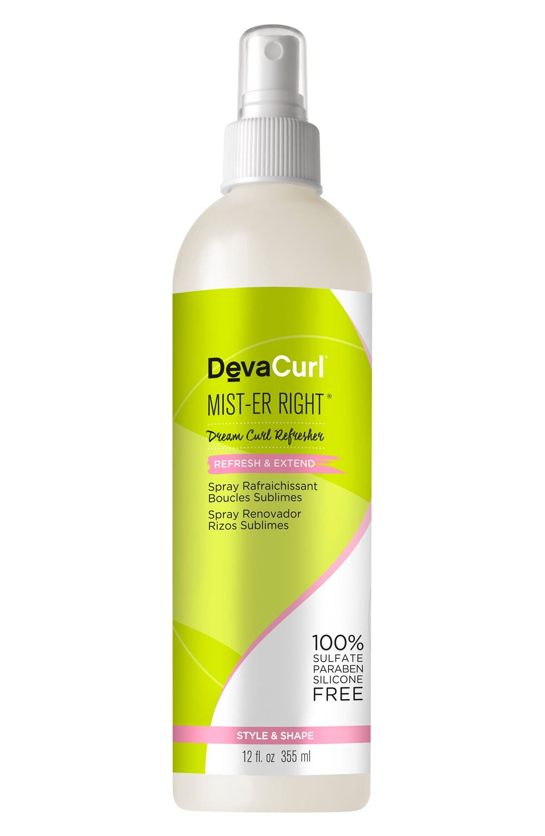DEVACURL, Mist-er Right Dream Curl Refresher, Main thumbnail 1, color, NO COLOR