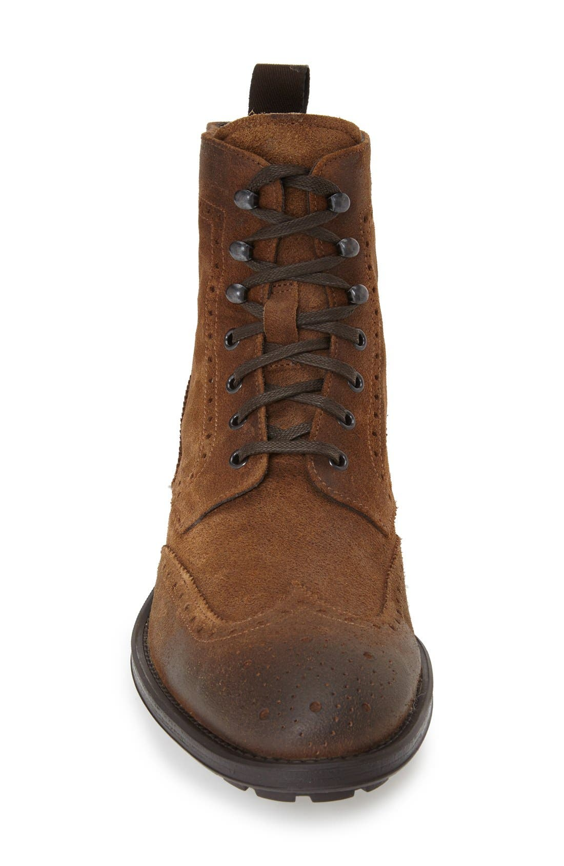 TO BOOT NEW YORK, 'Braeden Mid' Wingtip Boot, Alternate thumbnail 2, color, 231