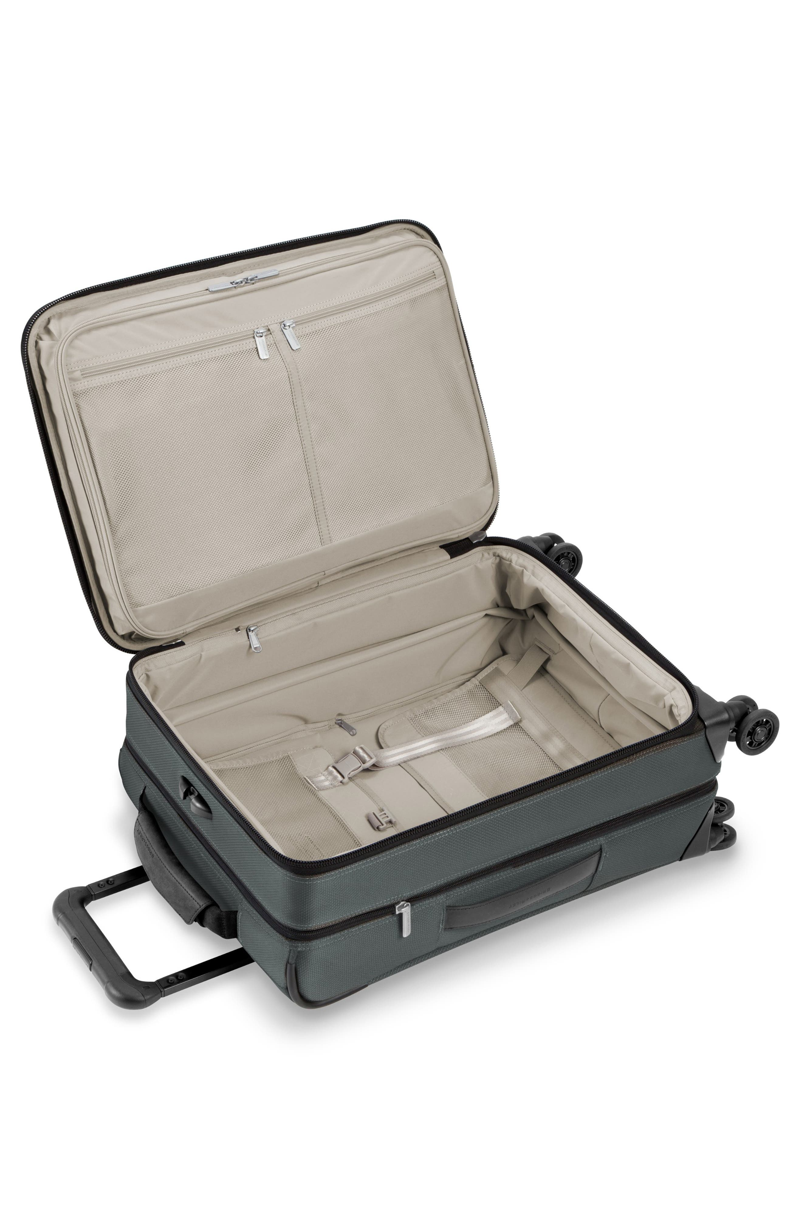 BRIGGS & RILEY, Transcend Tall Expandable Wheeled Suitcase, Alternate thumbnail 2, color, SLATE GREY