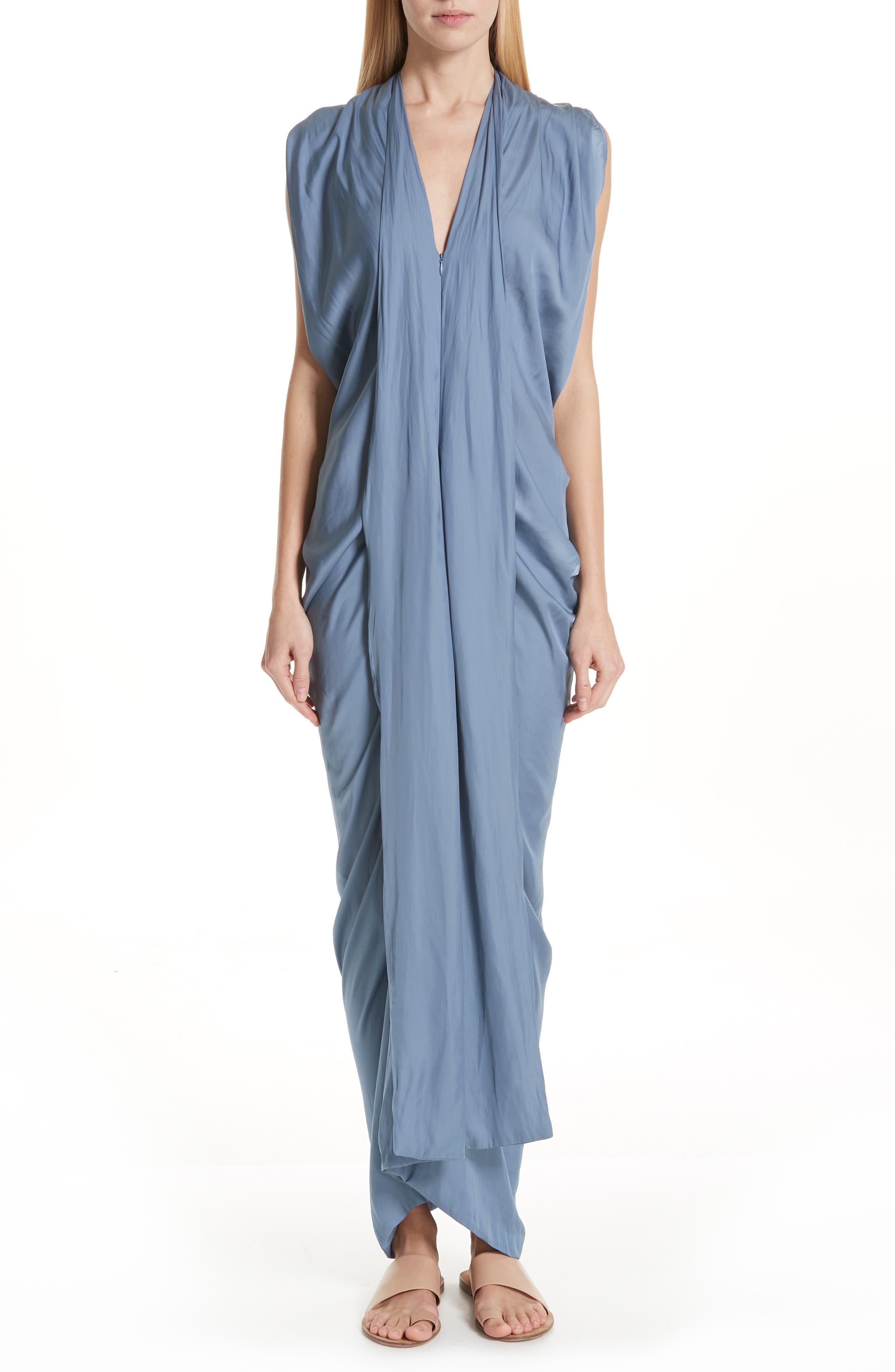 Zero + Maria Cornejo Eve Foil Dress