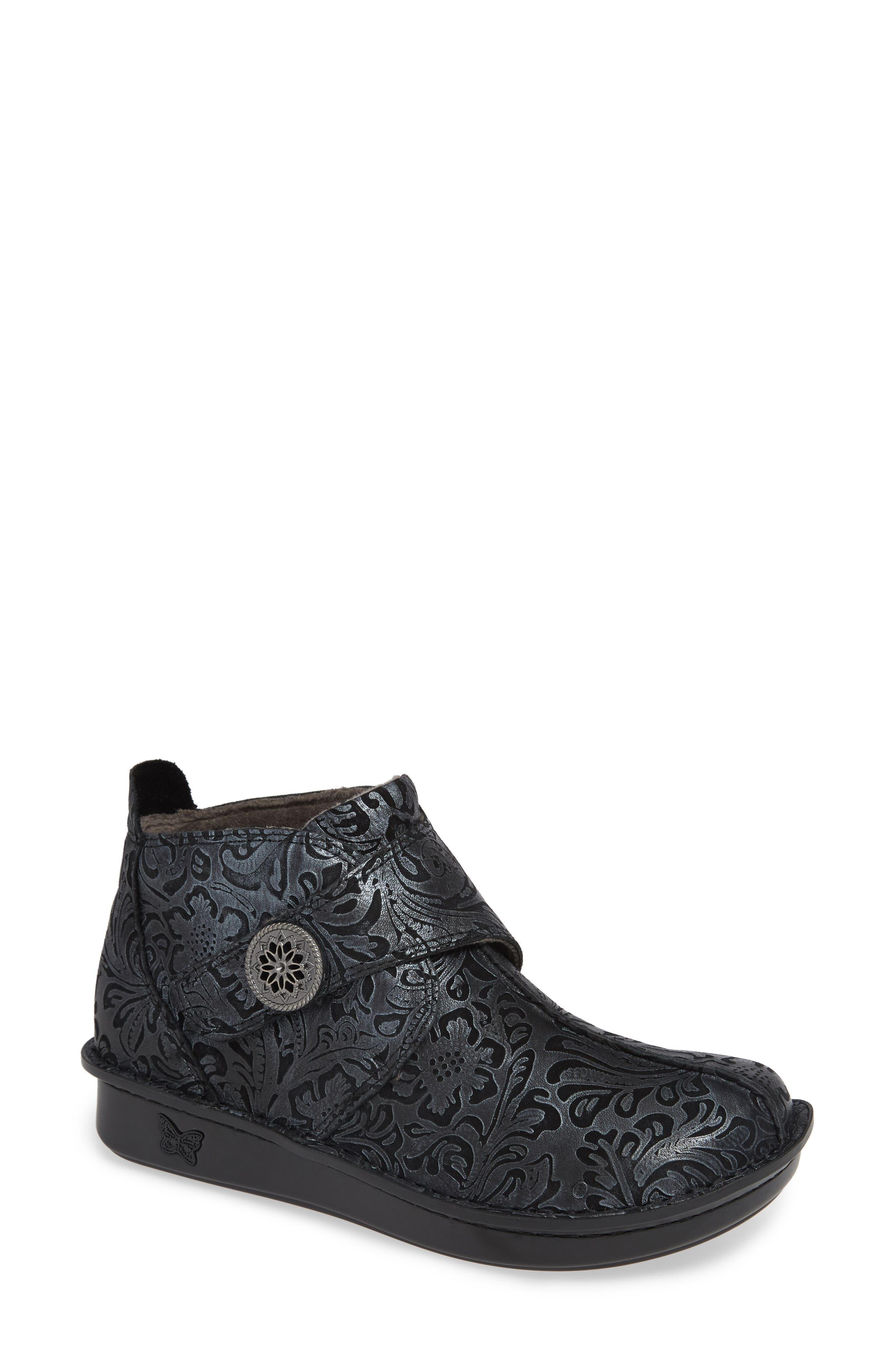 ALEGRIA 'Caiti' Boot, Main, color, STEEL SWISH LEATHER