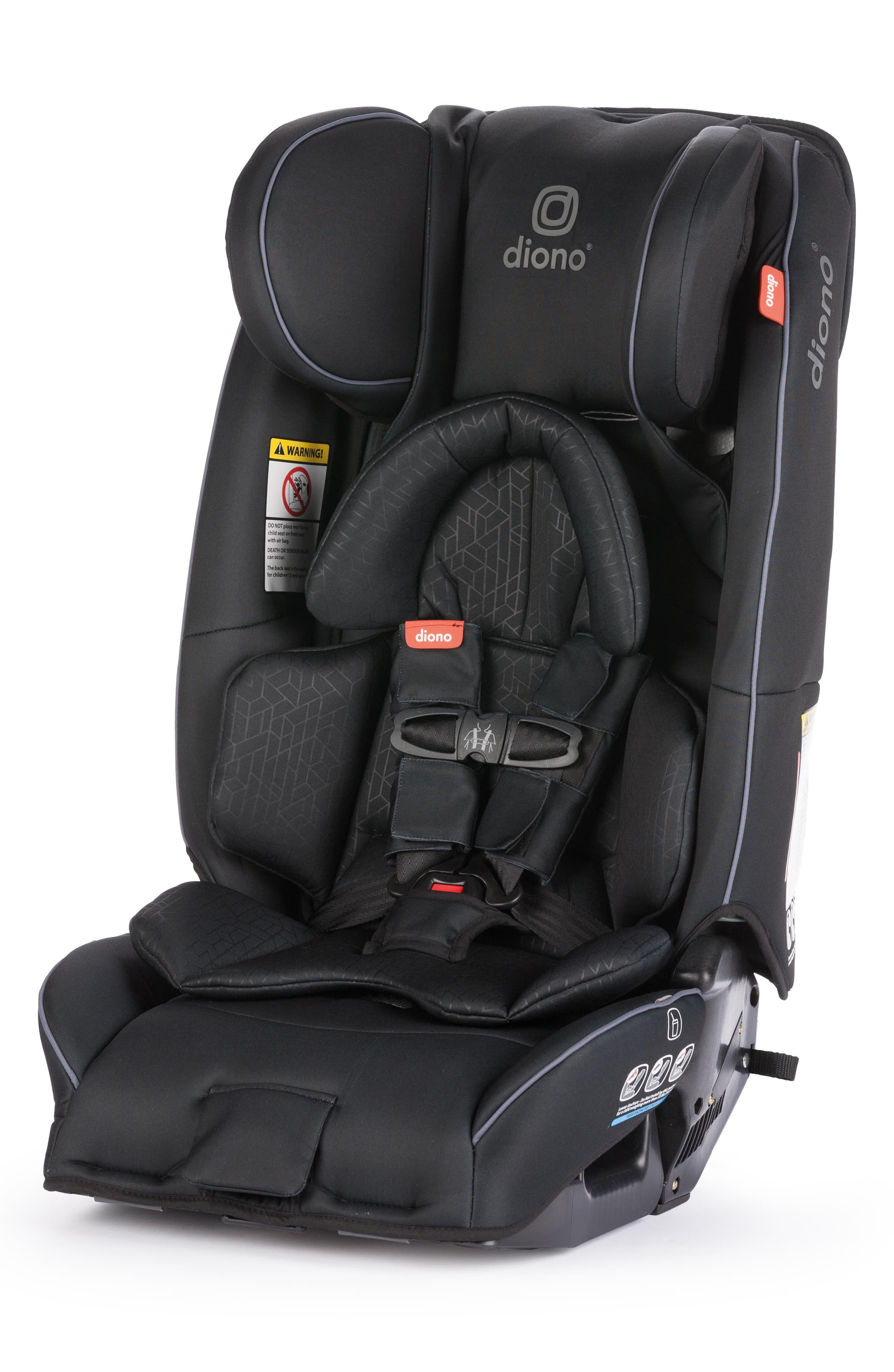 DIONO, radian<sup>®</sup> 3 rXT Rear & Forward Facing Car Seat, Alternate thumbnail 5, color, BLACK
