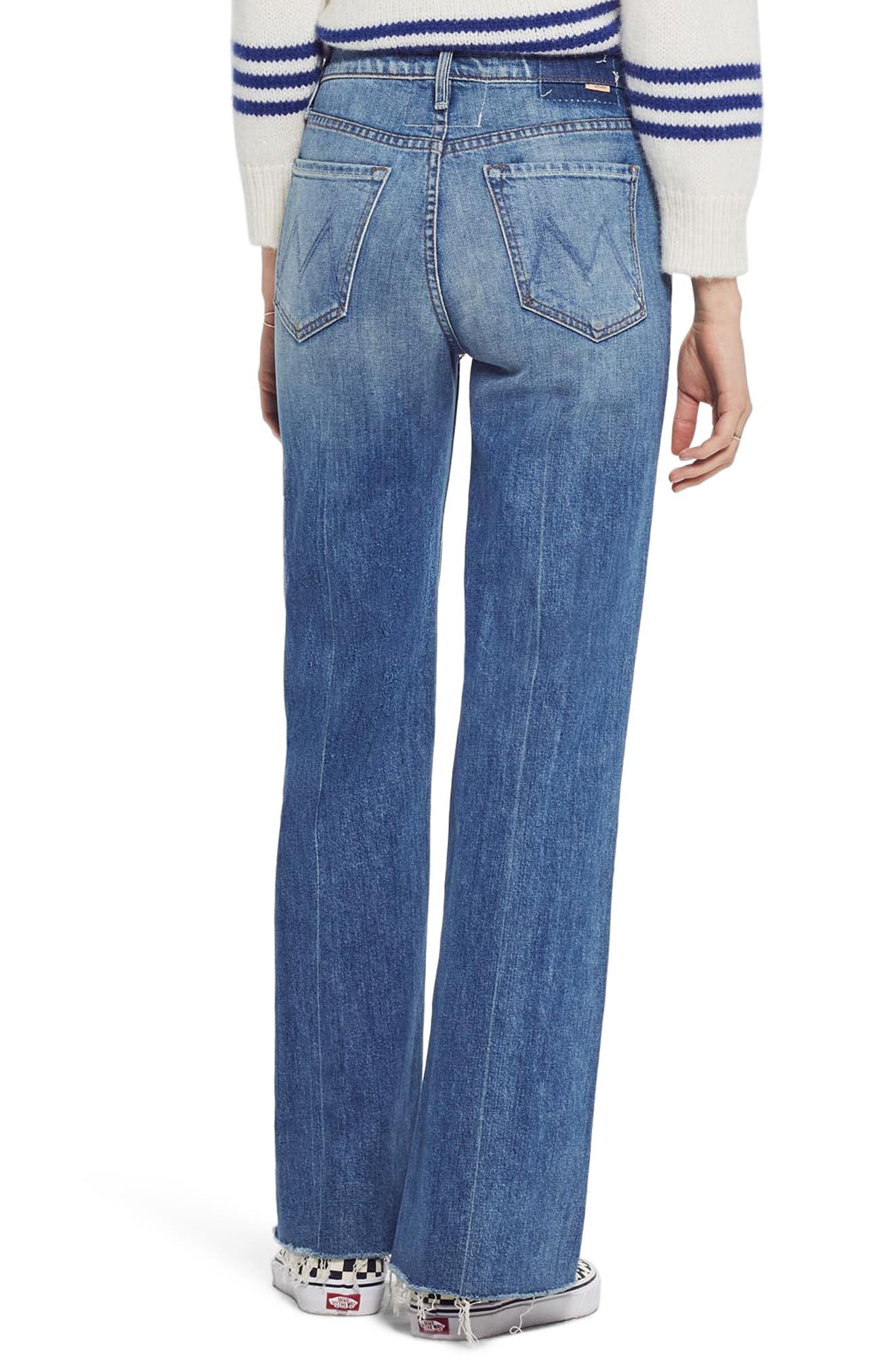 MOTHER, The Tomcat Roller Fray Jeans, Alternate thumbnail 2, color, SACRED