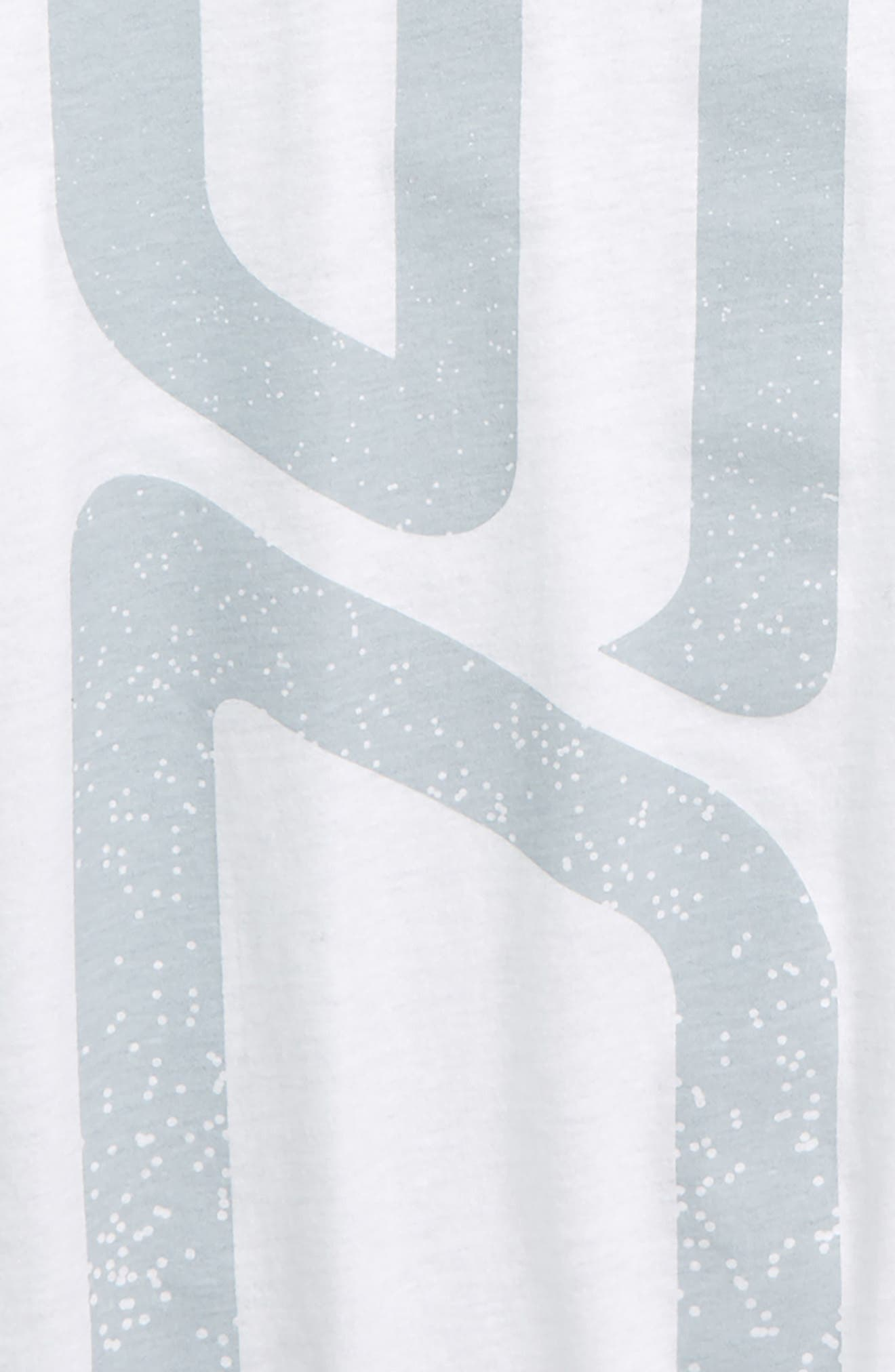 UNDER ARMOUR, SC30 Initials HeatGear<sup>®</sup> T-Shirt, Alternate thumbnail 2, color, WHITE