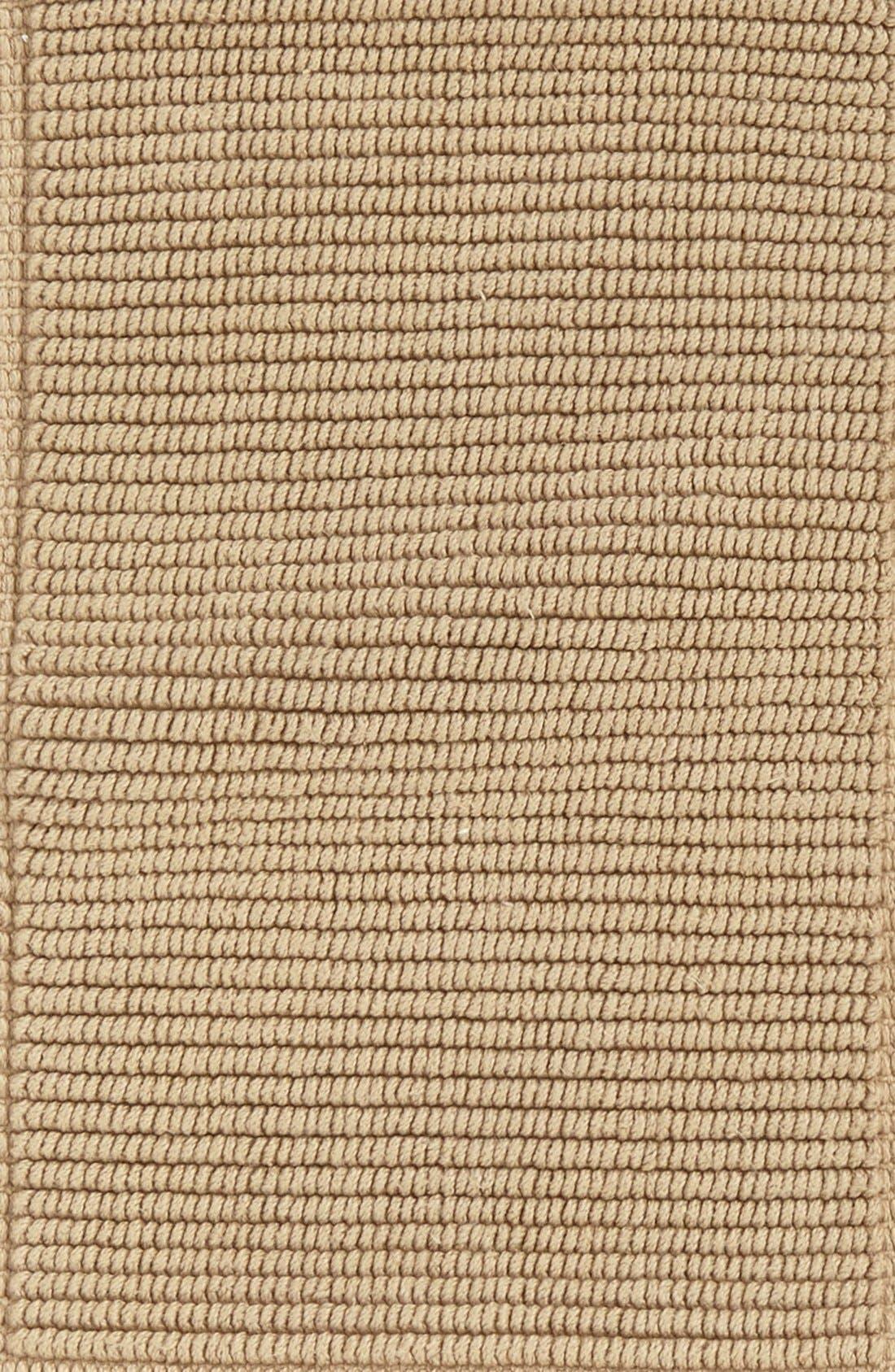 WATERWORKS STUDIO, Waterworks 'Perennial' Reversible Rug, Alternate thumbnail 3, color, SAND