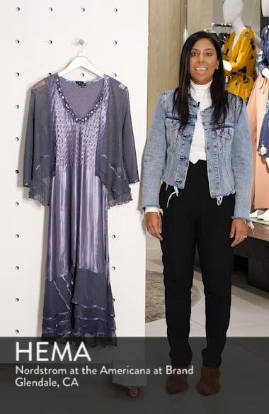 Embellished Charmeuse Dress & Chiffon Jacket, sales video thumbnail