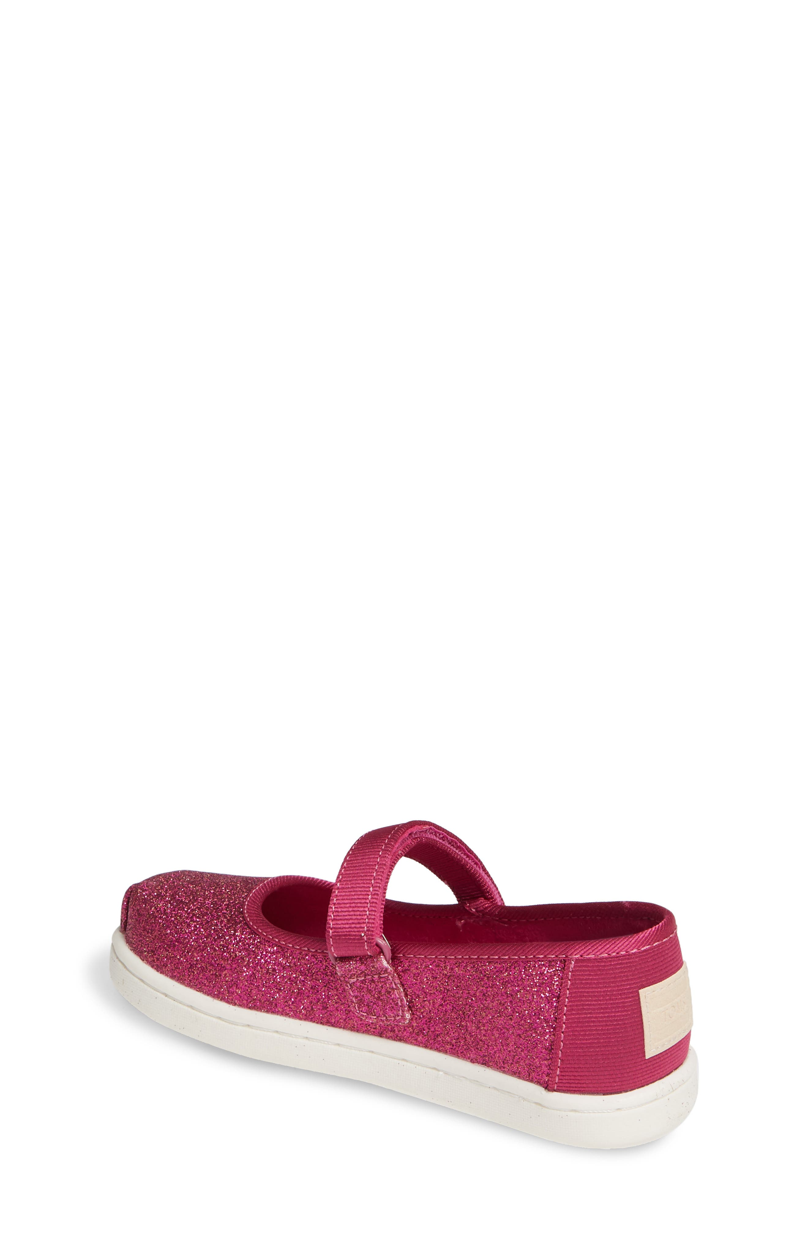 TOMS, Mary Jane Sneaker, Alternate thumbnail 2, color, PINK