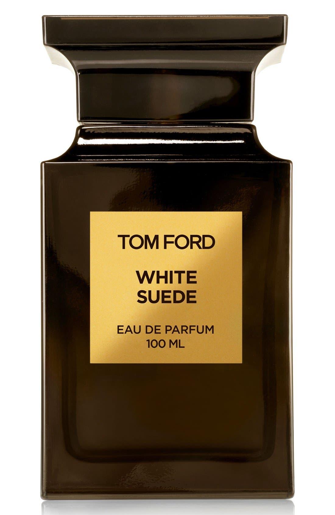 TOM FORD, Private Blend White Suede Eau de Parfum, Alternate thumbnail 2, color, NO COLOR