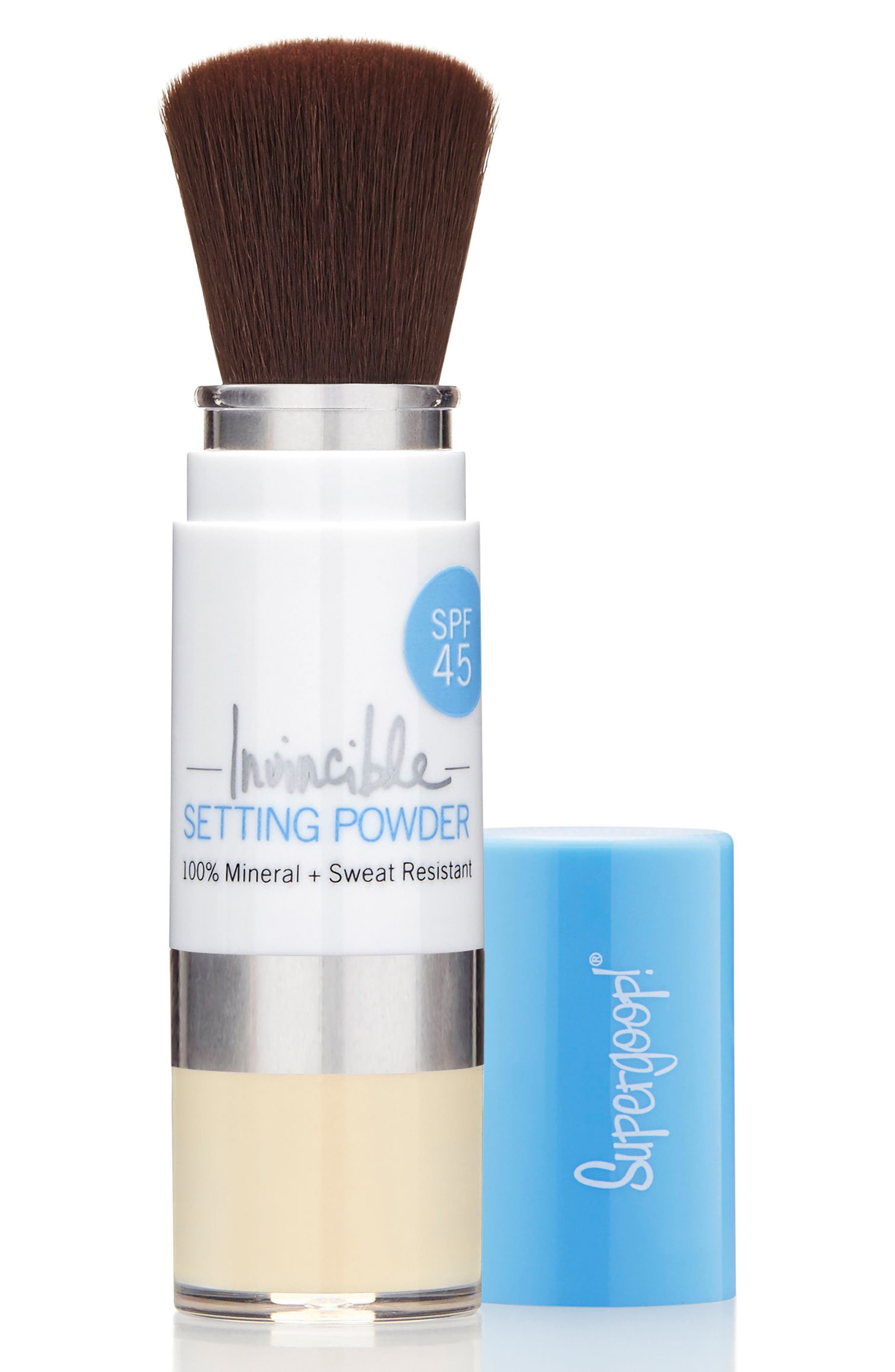 SUPERGOOP!<SUP>®</SUP>, Supergoop! Invincible Setting Powder SPF 45, Alternate thumbnail 2, color, TRANSLUCENT