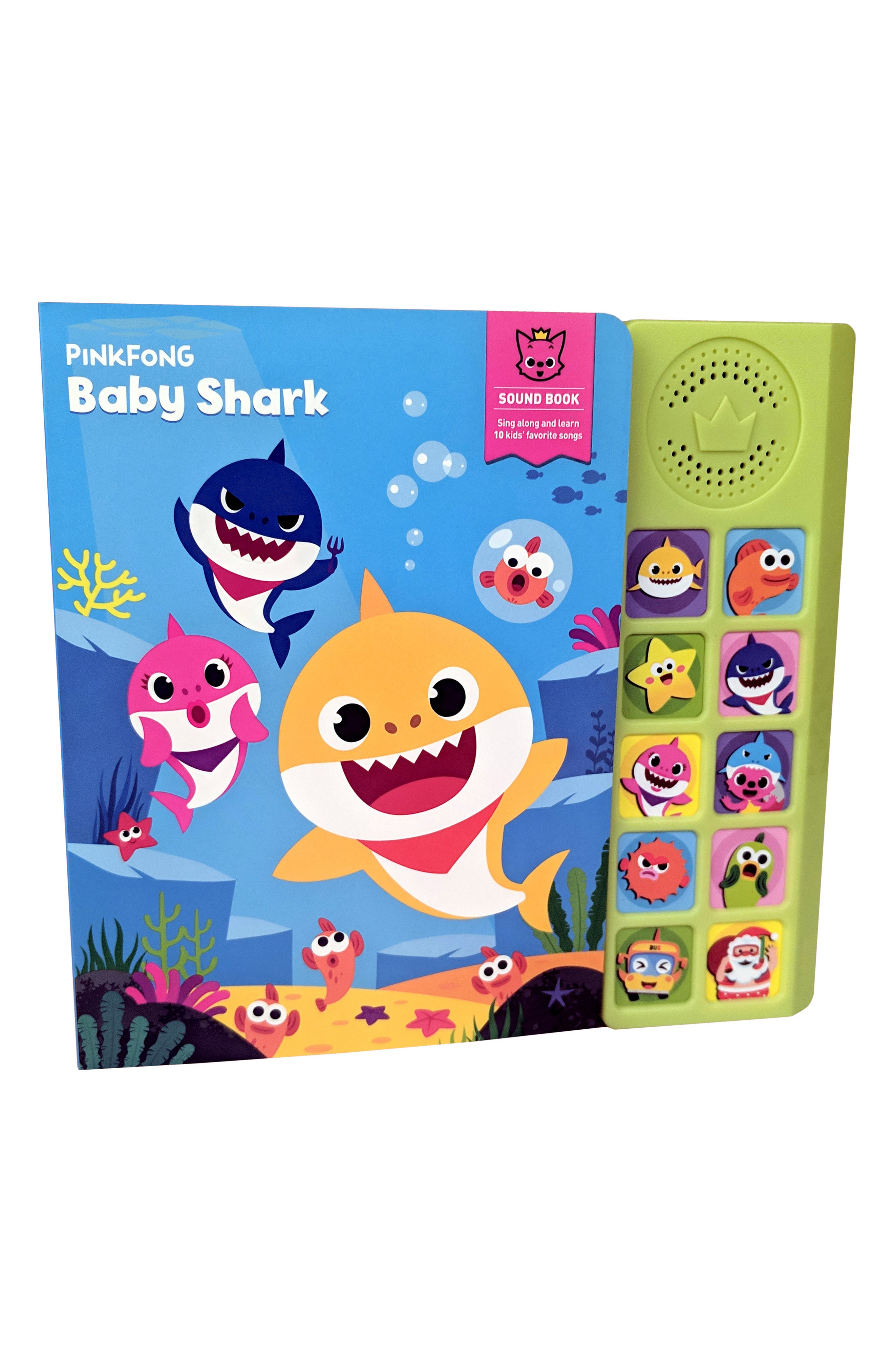 Pinkfong Baby Shark Sound Book Size One Size  None