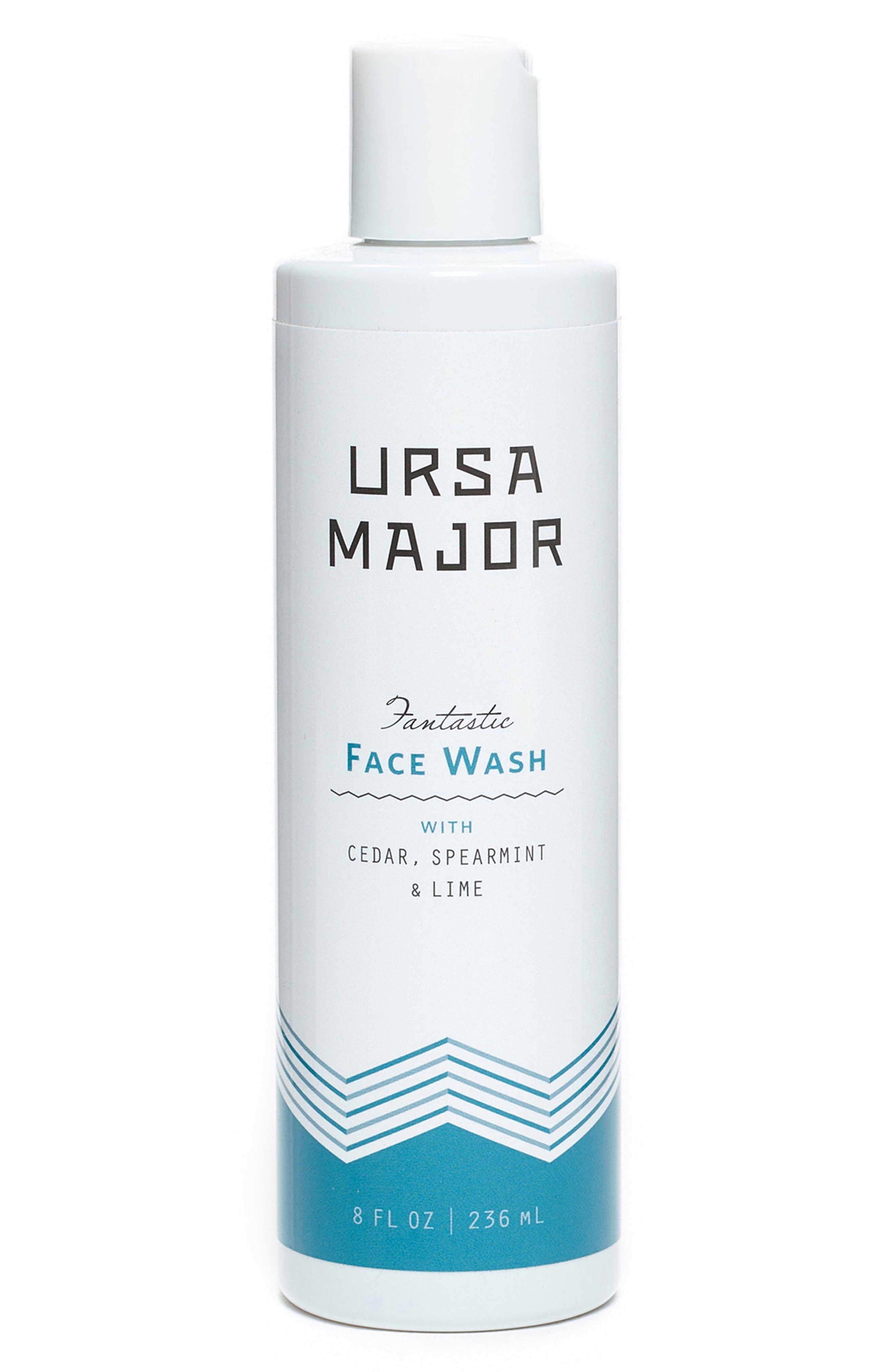 URSA MAJOR Fantastic Face Wash, Main, color, NO COLOR