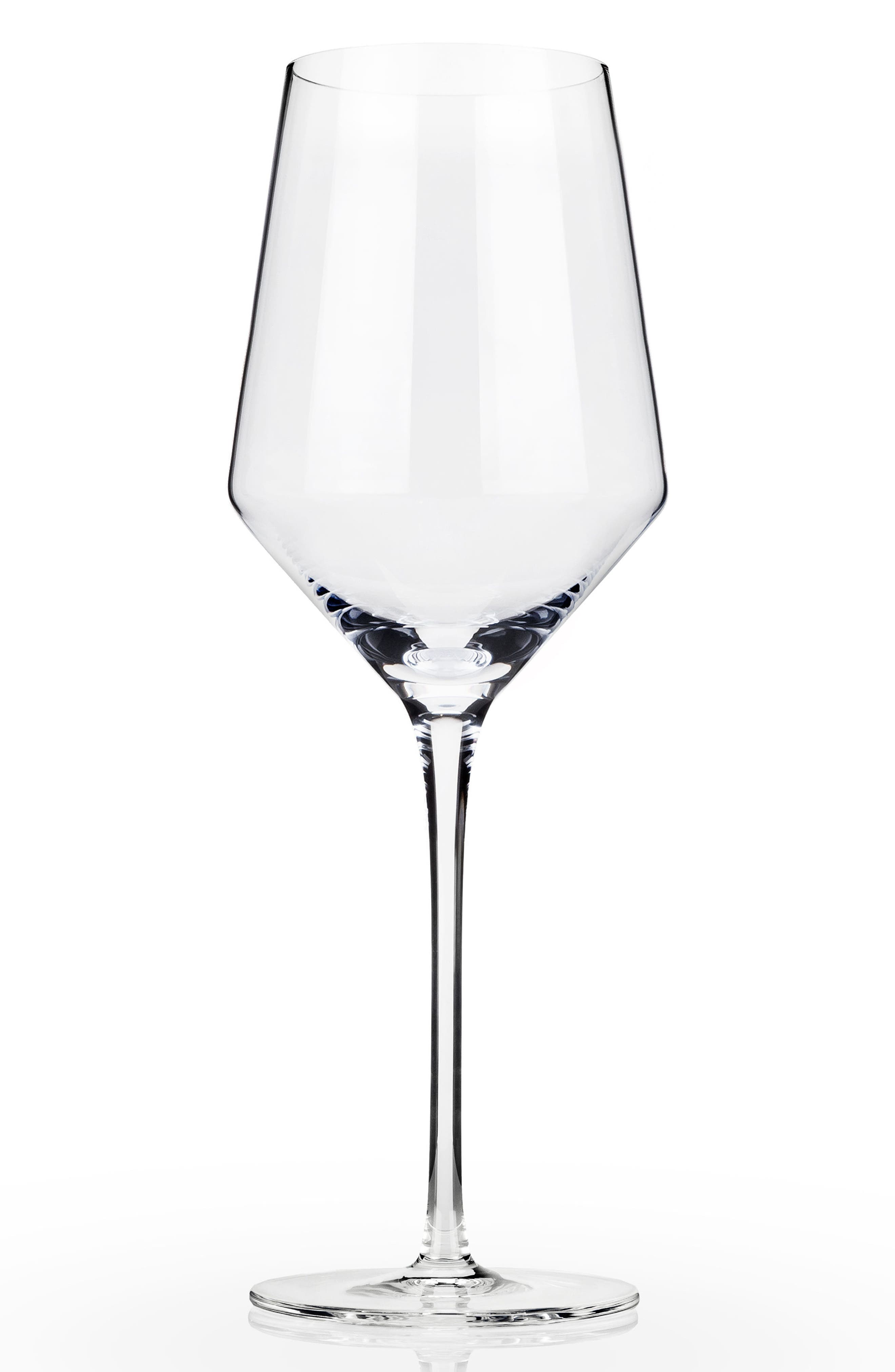 VISKI Raye Set of 2 Chardonnay Glasses, Main, color, CLEAR