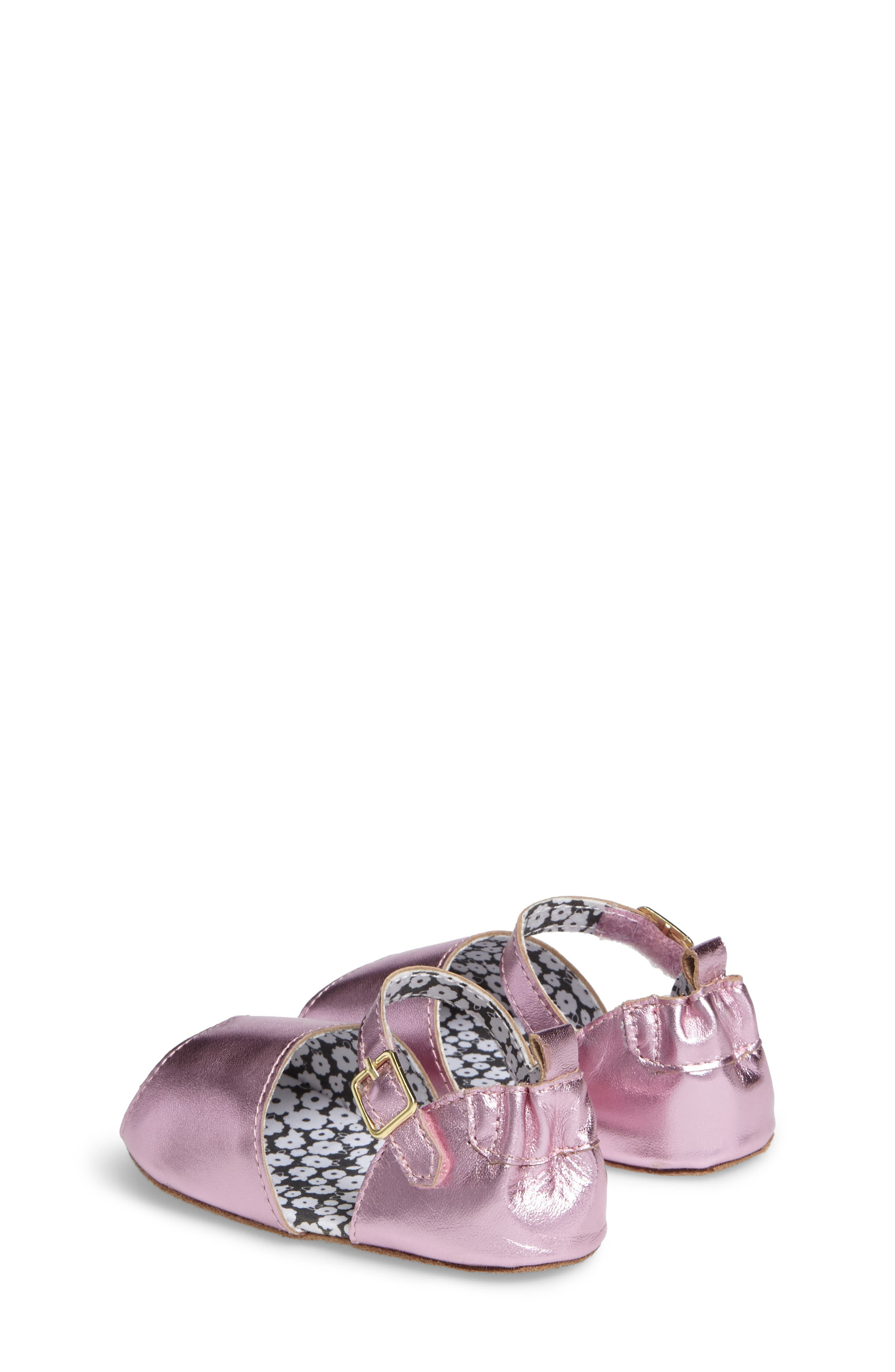 ROBEEZ<SUP>®</SUP>, Sophie Crib Shoe, Alternate thumbnail 2, color, COBBLESTONE
