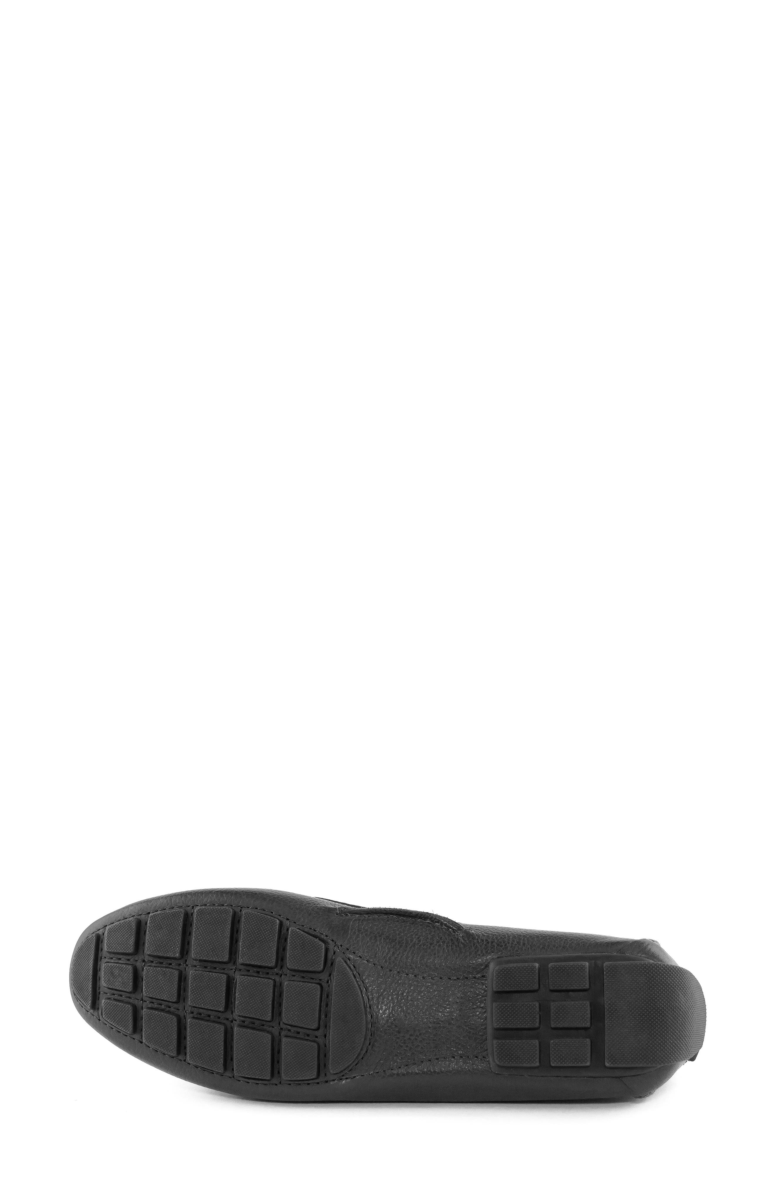 MARC JOSEPH NEW YORK, Rockaway Loafer, Alternate thumbnail 5, color, BLACK LEATHER