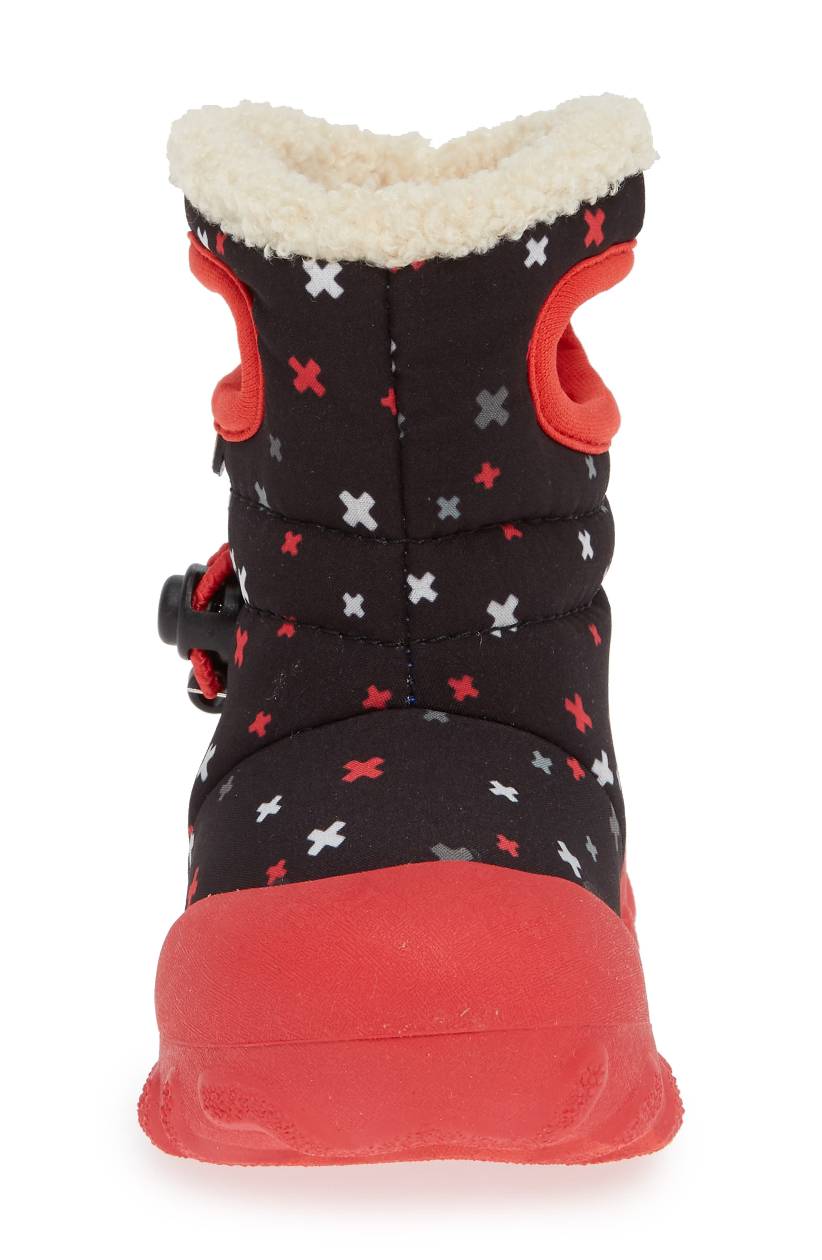 BOGS, B-MOC Plus Waterproof Insulated Faux Fur Boot, Alternate thumbnail 4, color, 009