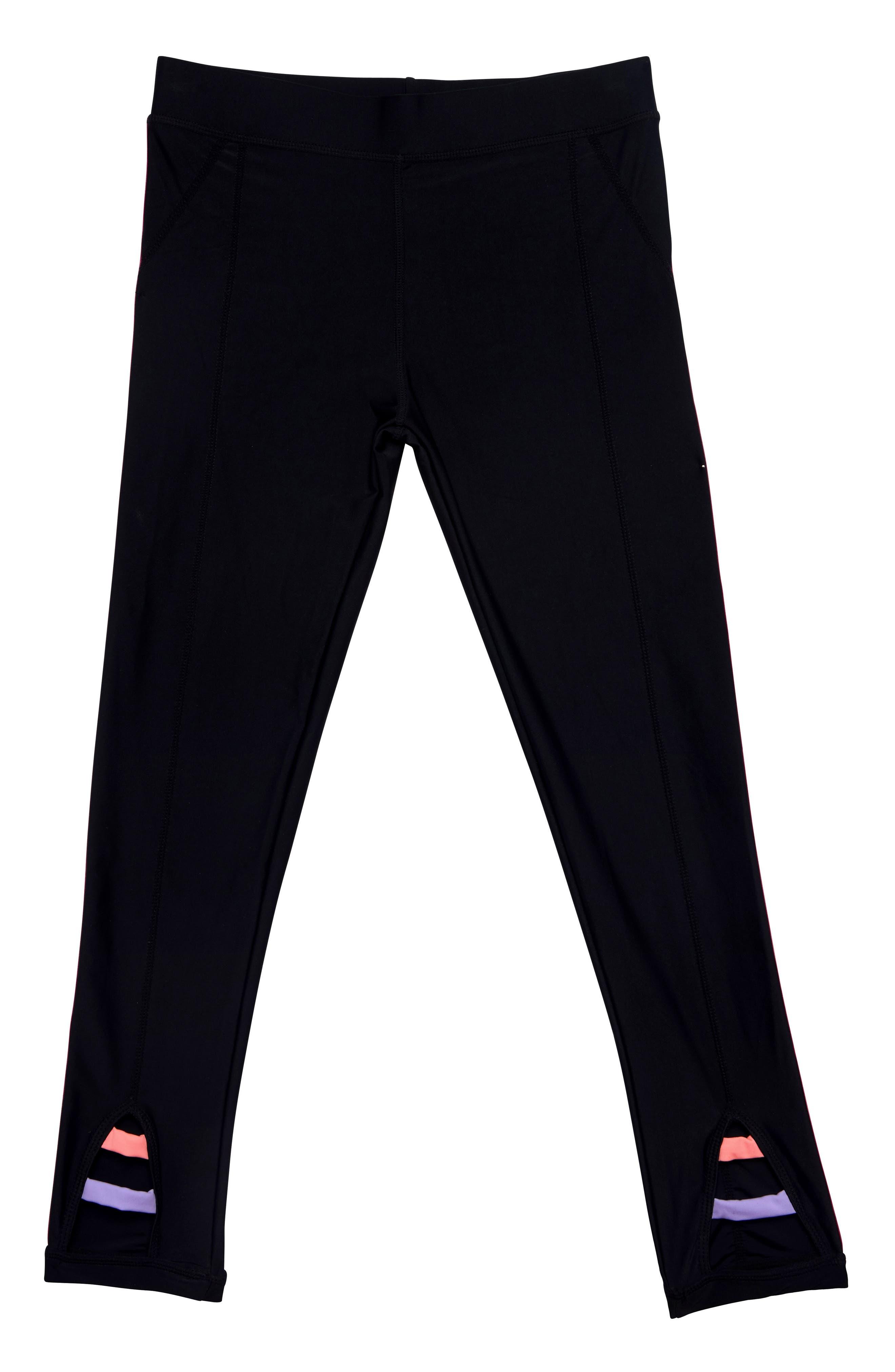 Girls Gossip Girl Color Of Fun Pants Size S (78)  Black