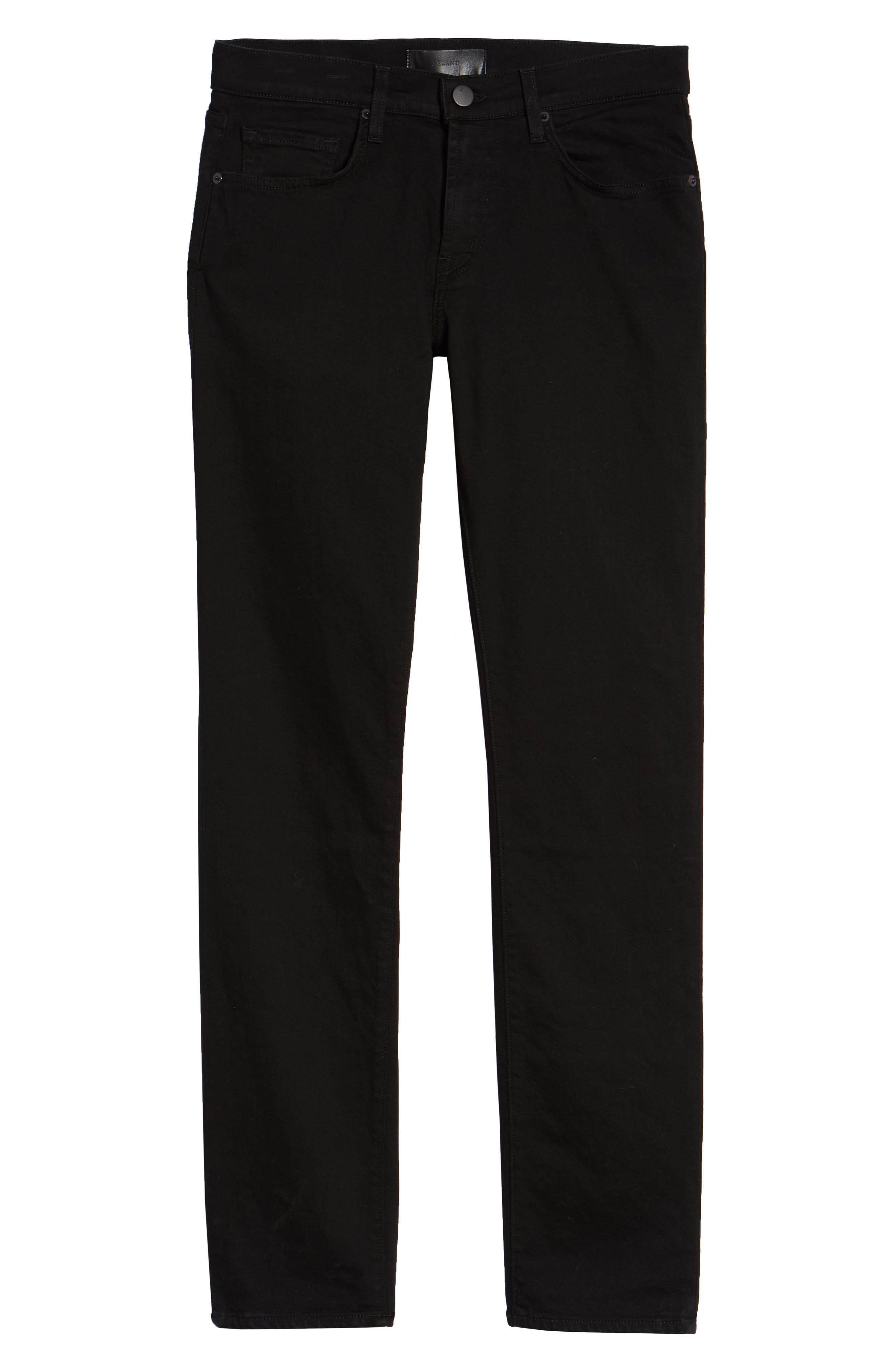 J BRAND, Tyler Slim Fit Jeans, Alternate thumbnail 2, color, TRIVOR BLACK