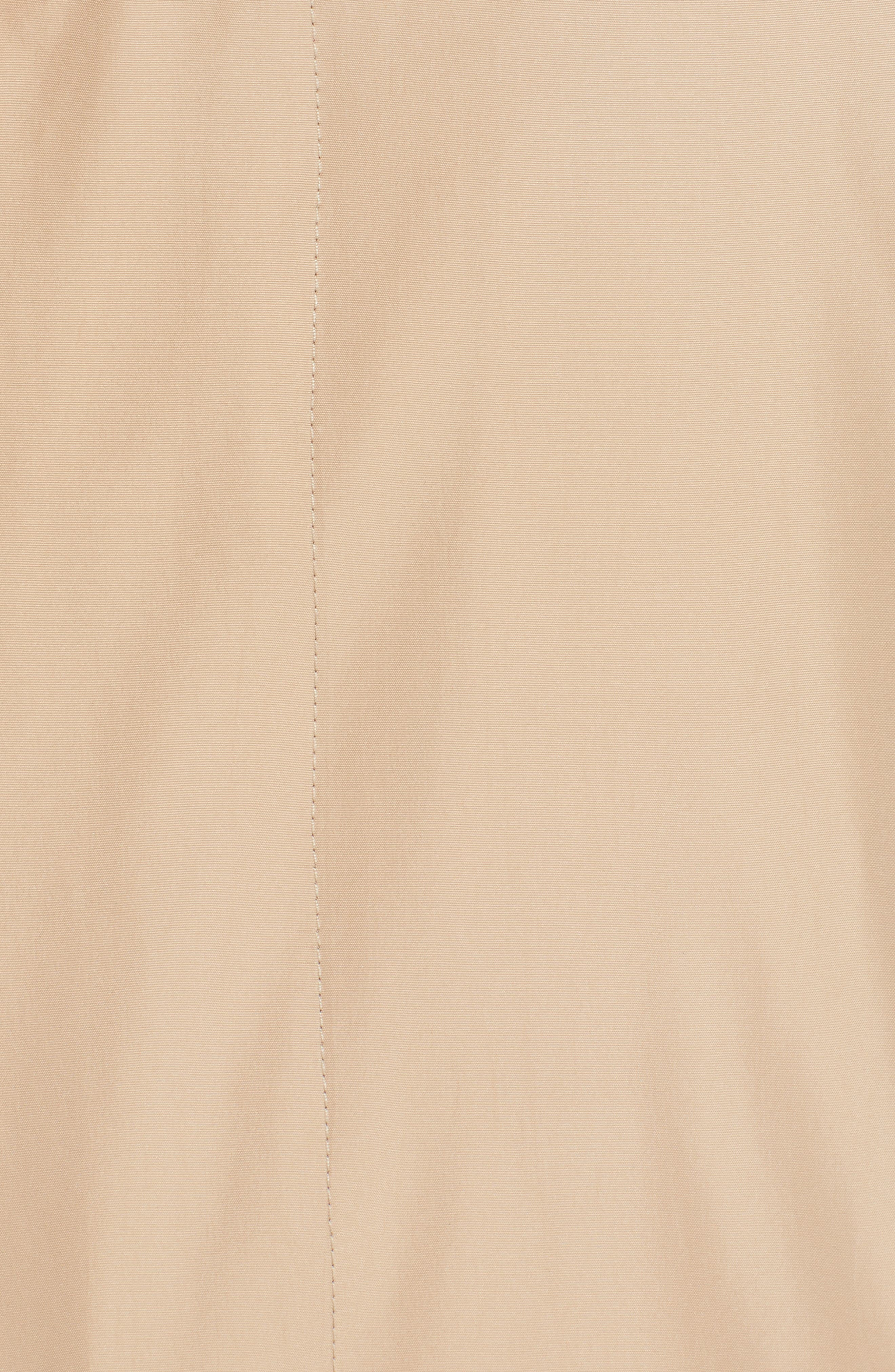 CANALI, Lightweight Overcoat, Alternate thumbnail 7, color, BEIGE