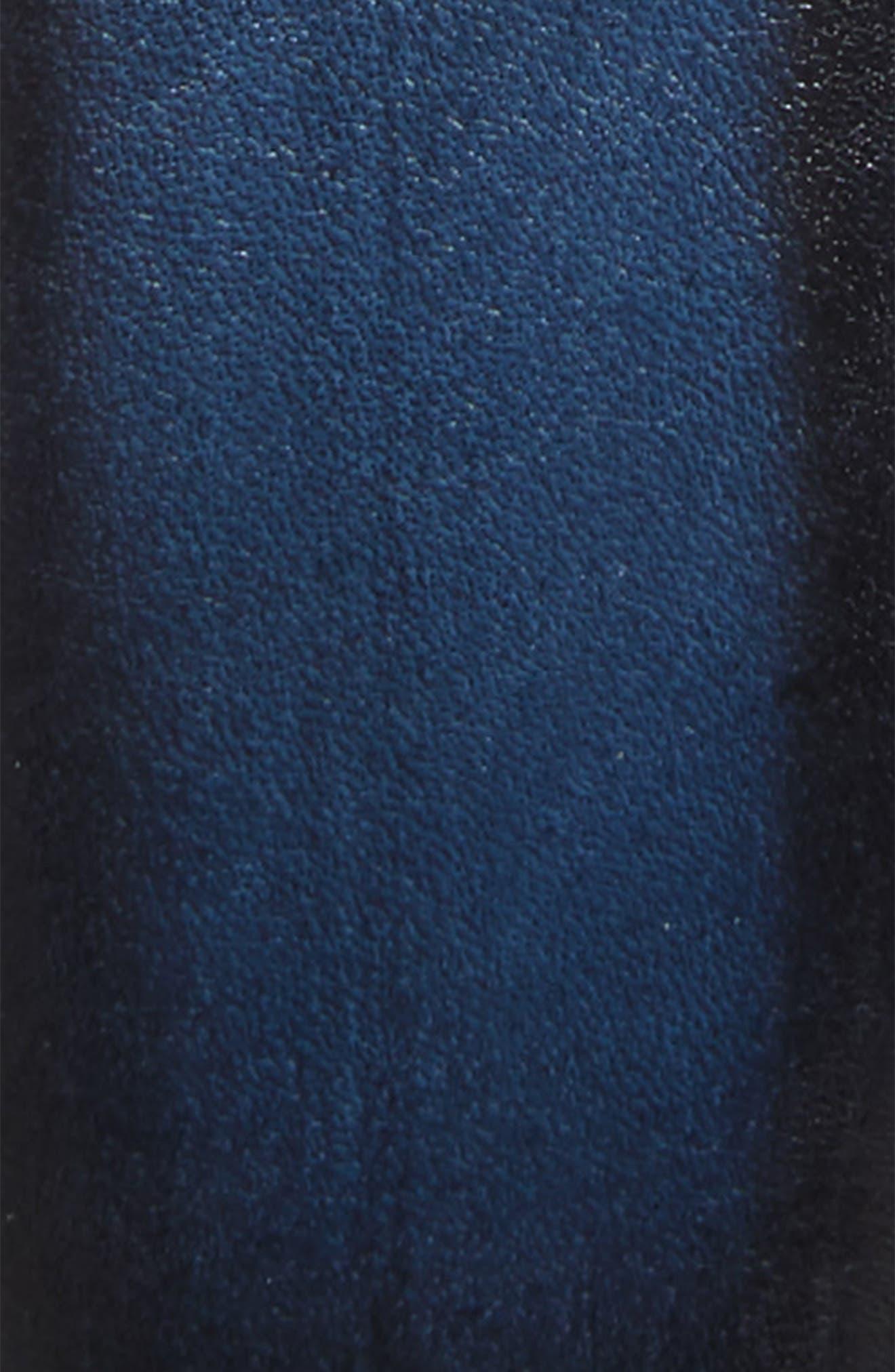 MEZLAN, Palma Leather Belt, Alternate thumbnail 2, color, MEDIUM BLUE